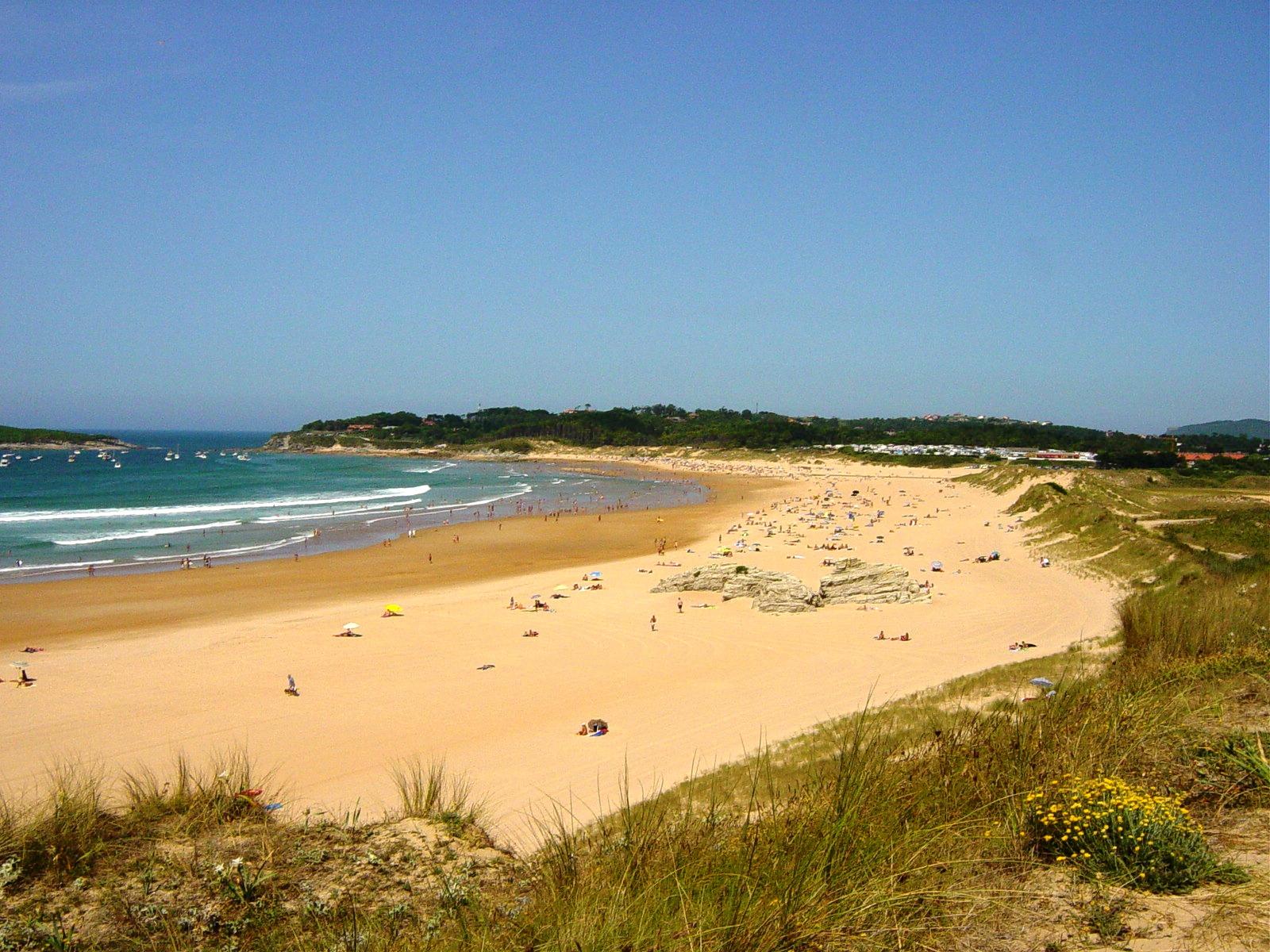 Foto playa Loredo. Playa de Somo
