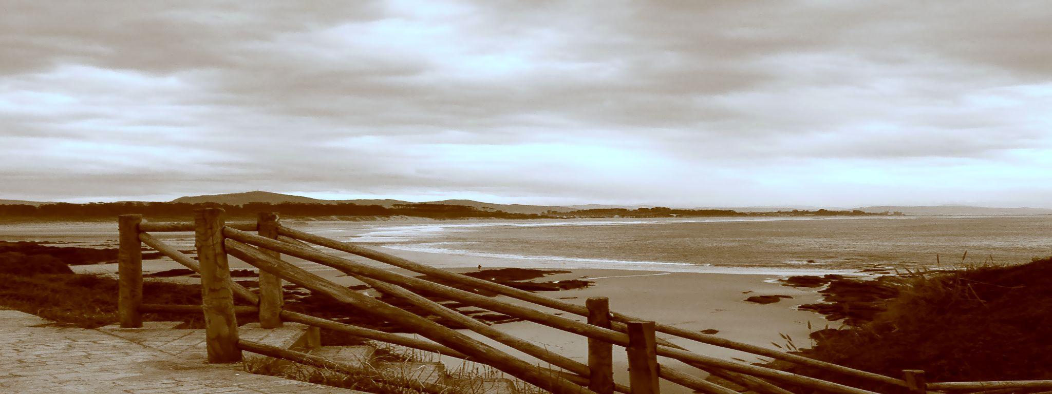 Foto playa Langre II. SOMO EN INVIERNO