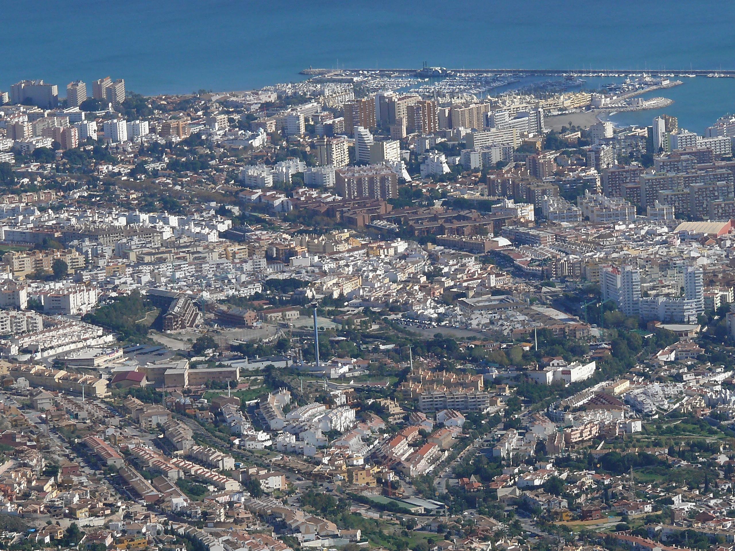 Foto playa Torremuelle. Benalmádena - Costa del Sol -Málaga