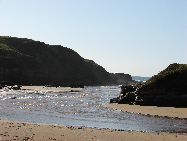 Foto playa Galizano / La Canal / La Canal de Galizano. Playa de Carriazo (Cantabria)