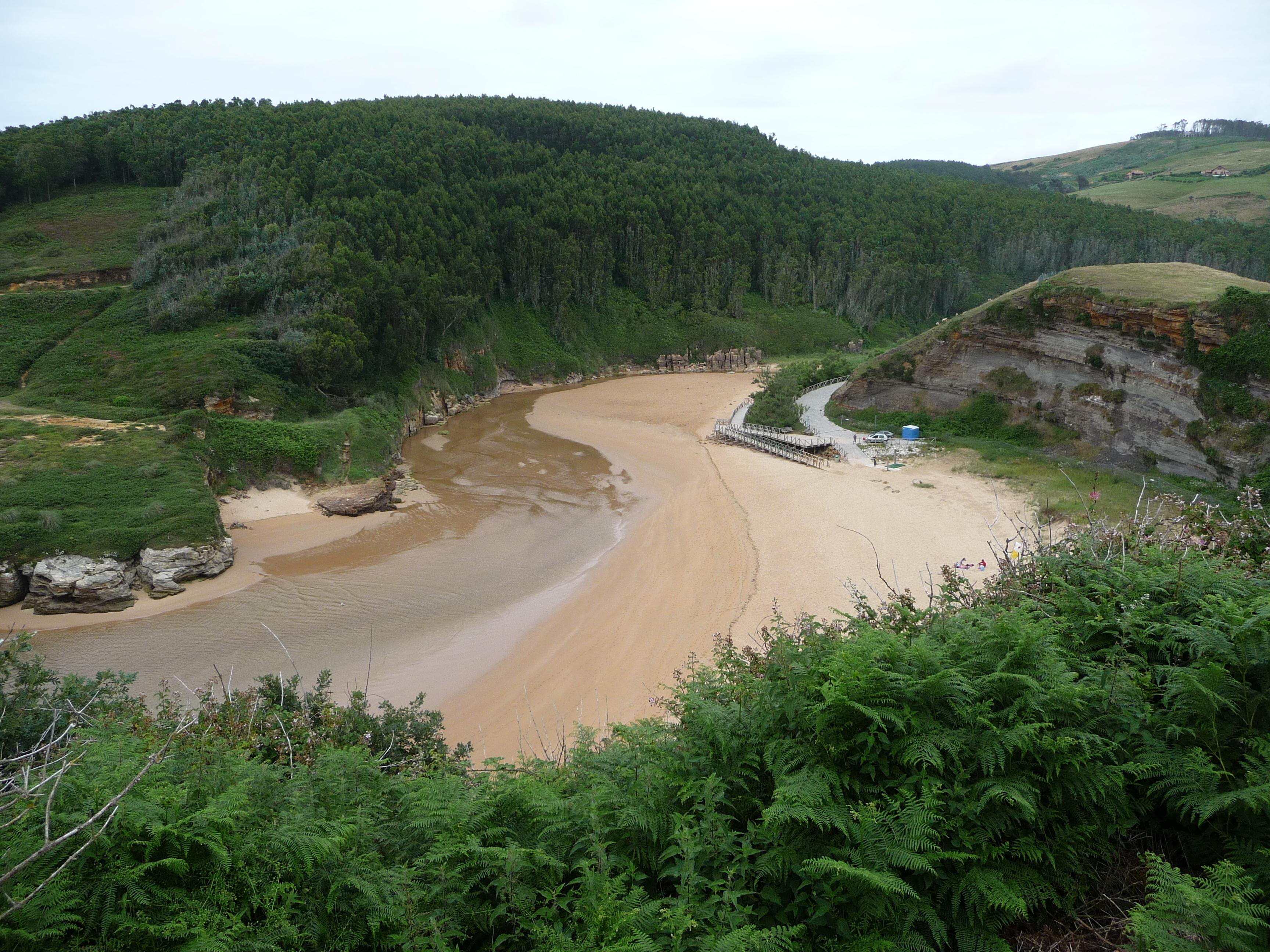 Foto playa Galizano / La Canal / La Canal de Galizano. Playa de Galizano   (by Birkenwald)