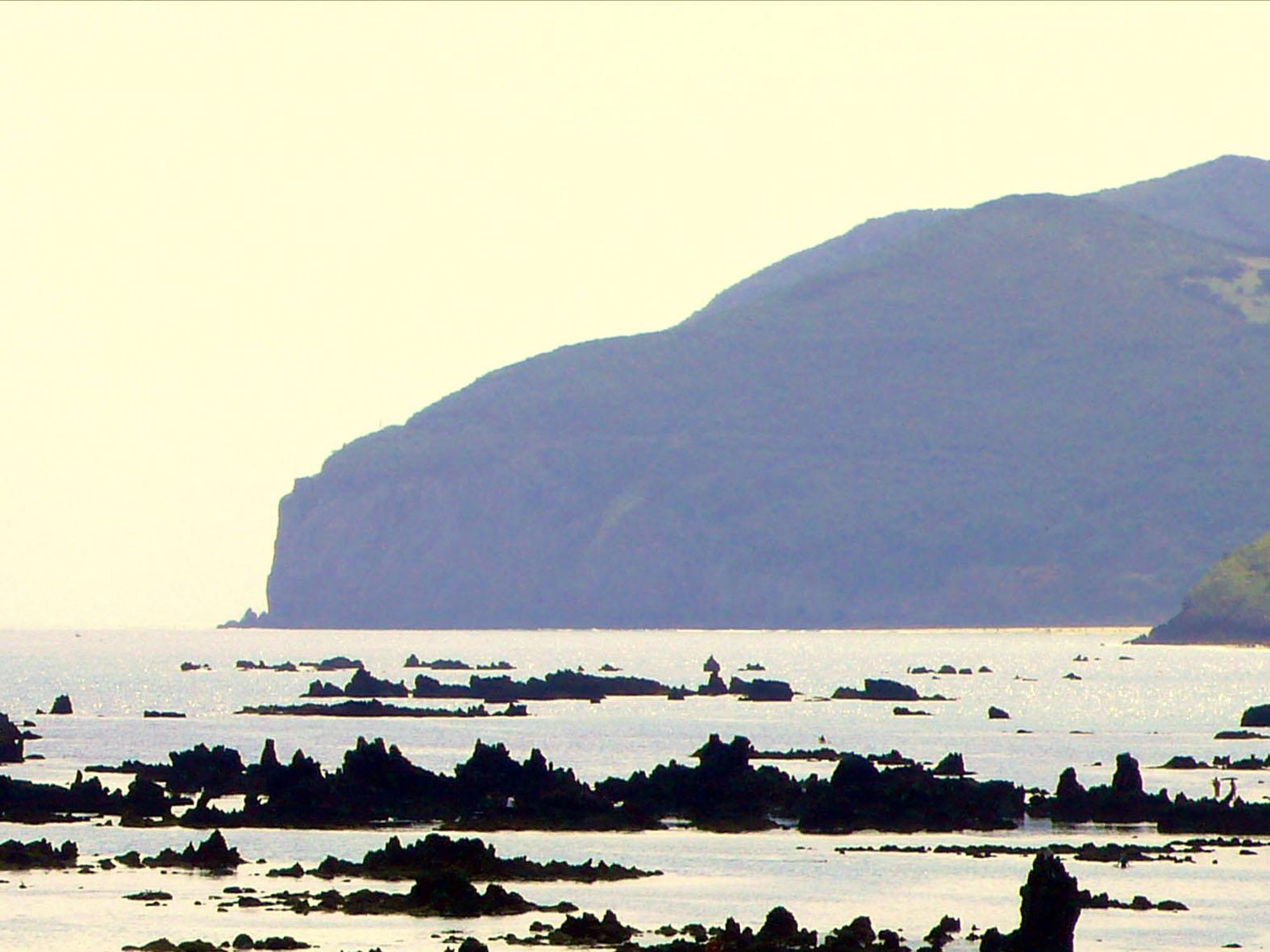 Foto playa Trengandín. Peñones de Trengandín y Punta del Pescador