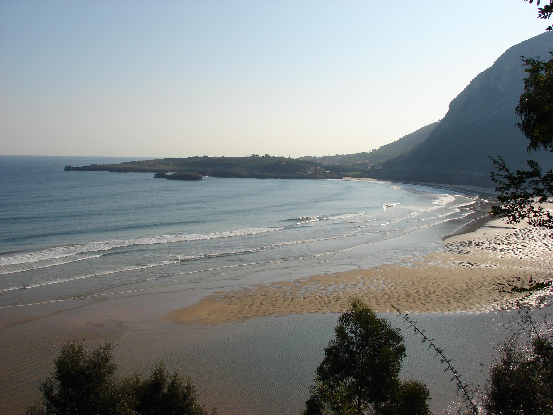 Foto playa Oriñón. Playa El Sable (Oriñon,Cantabria)