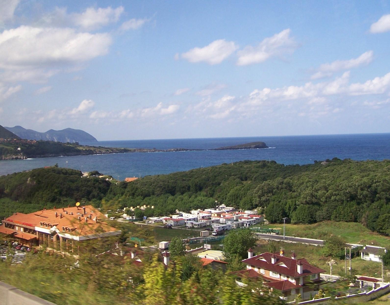 Foto playa Arenillas / Islares. Islares, Cantabria.