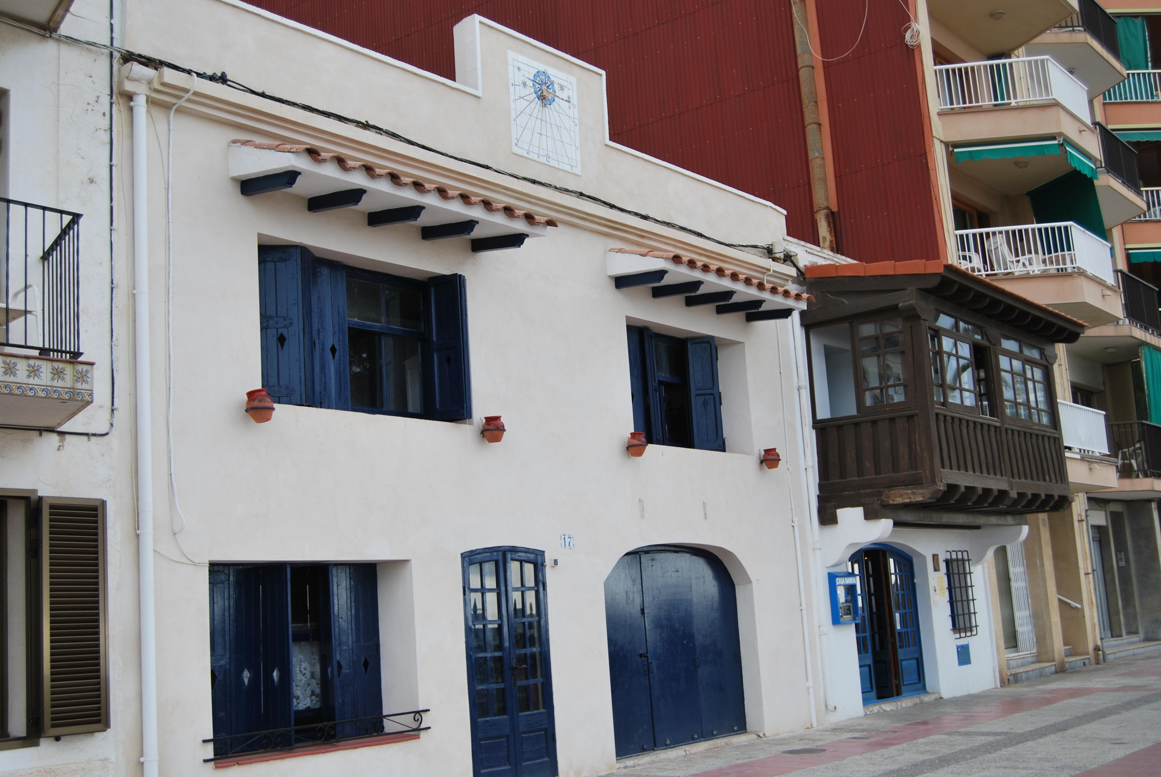 Foto playa Les Madrigueres. Casa Barrall