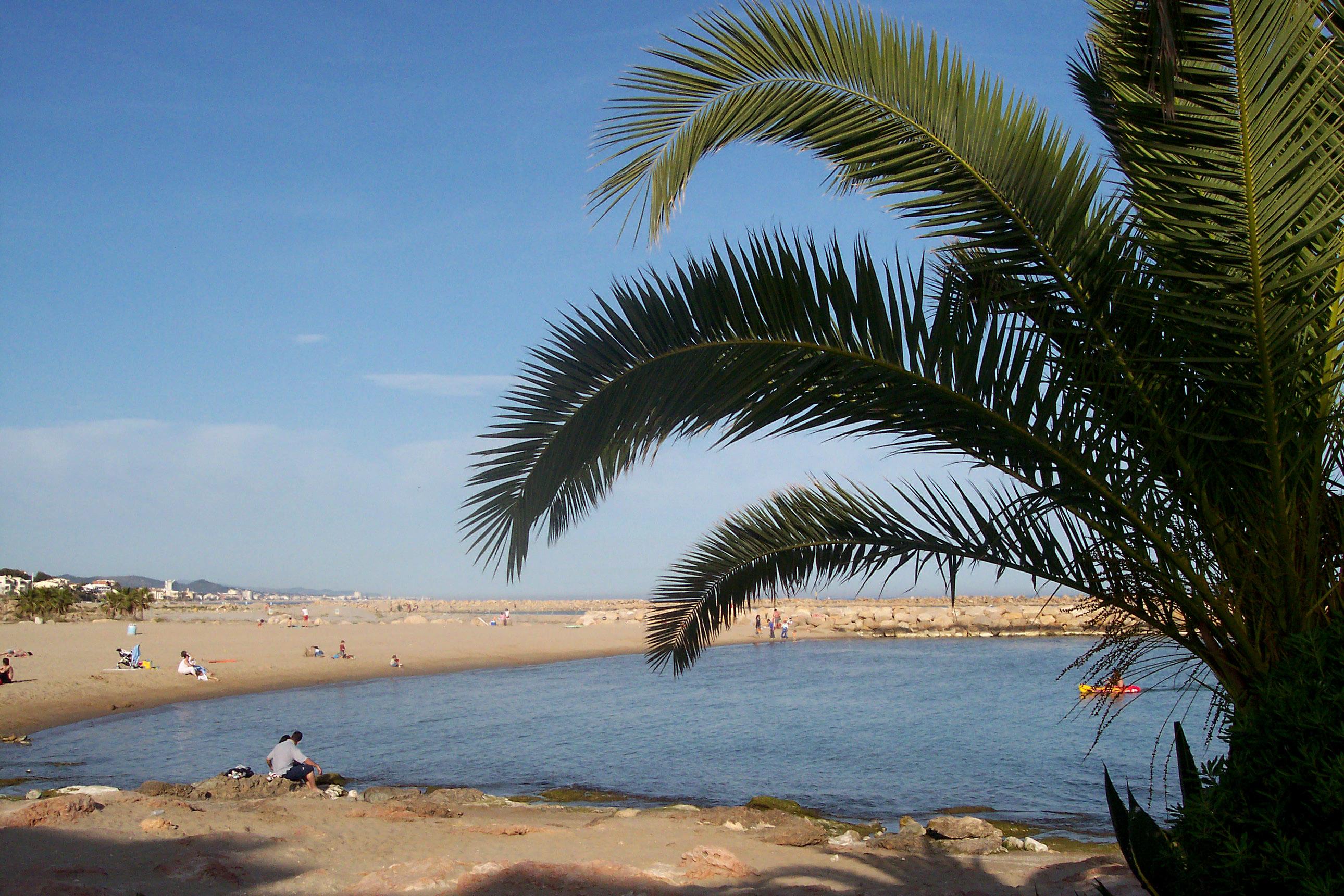 Playa Les Guineus / Costa Daurada