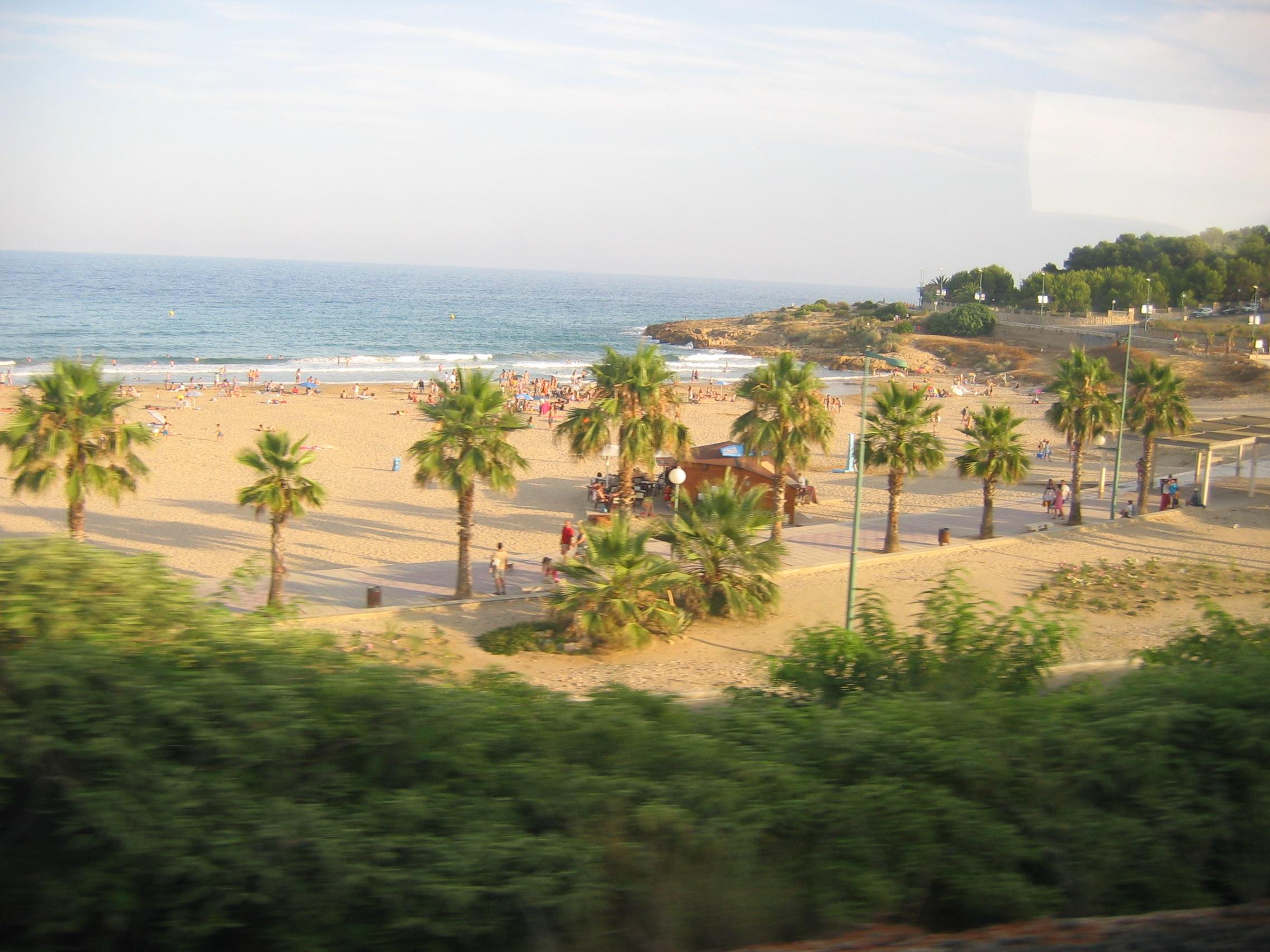 Foto playa Creixell. Barcelona - Julio 2004 035