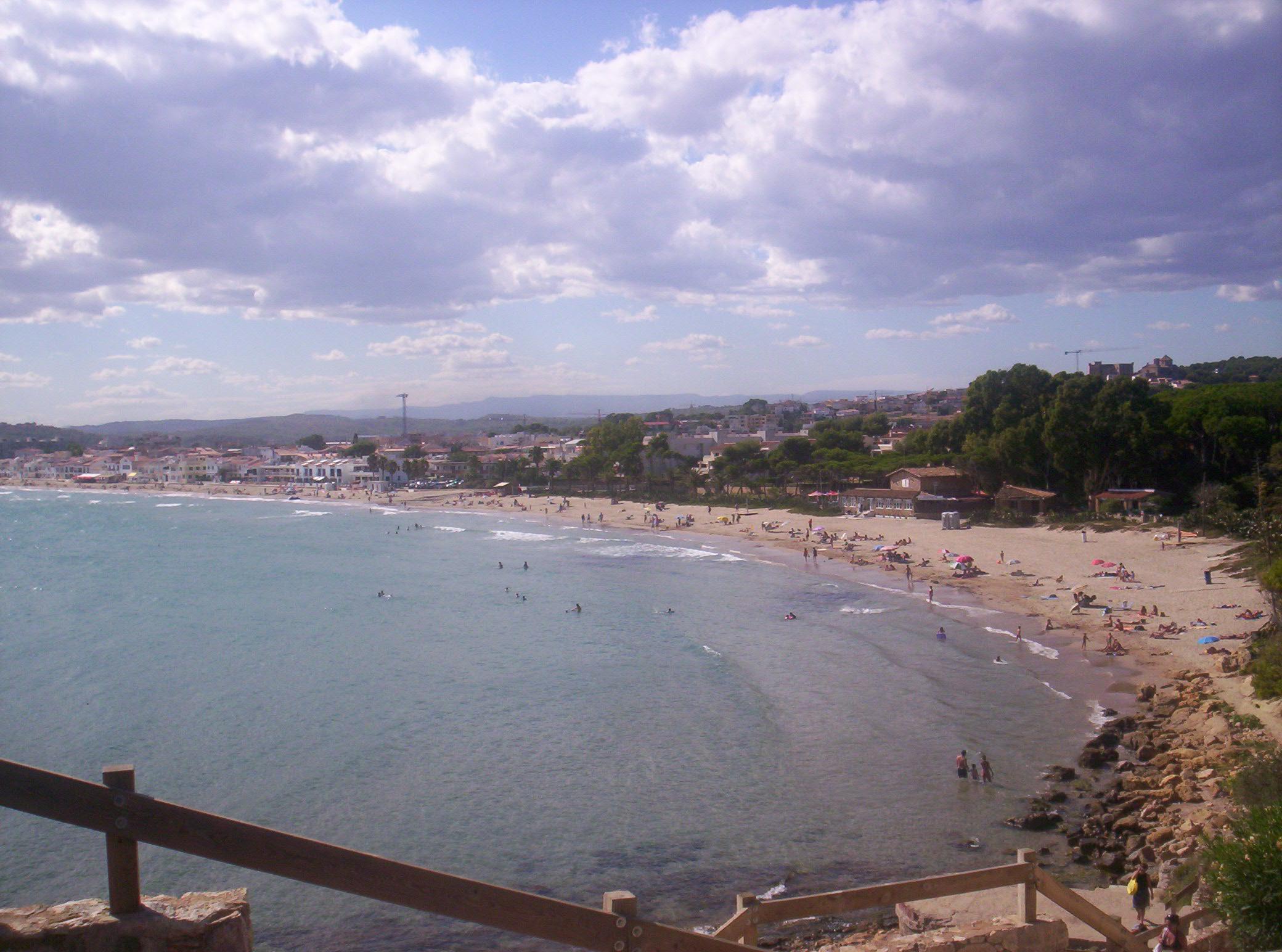 Foto playa Cala Canyadell / Cala Capellans. Spiaggia
