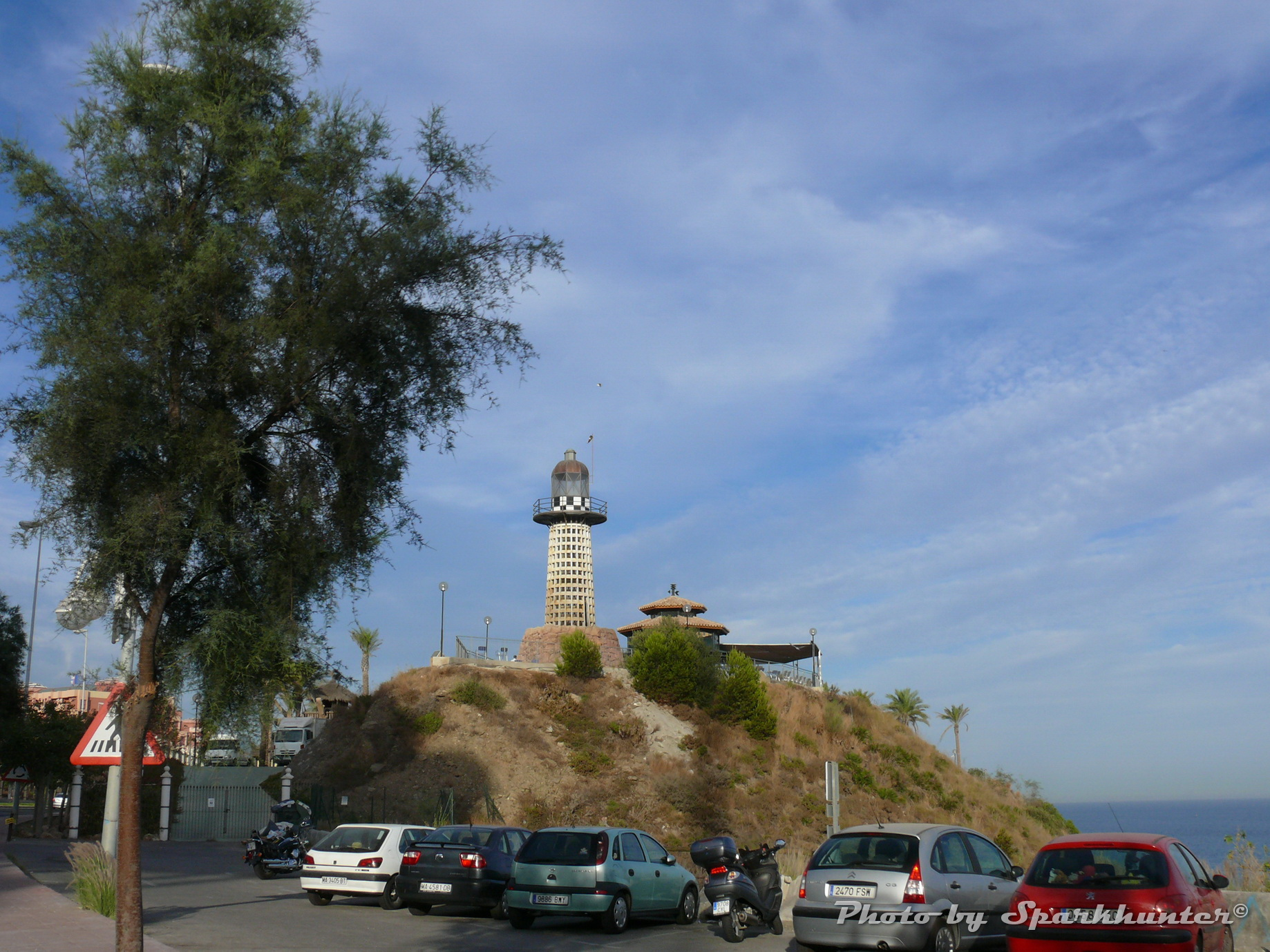 Foto playa Tajo de la Soga. Benalmadena lighthouse