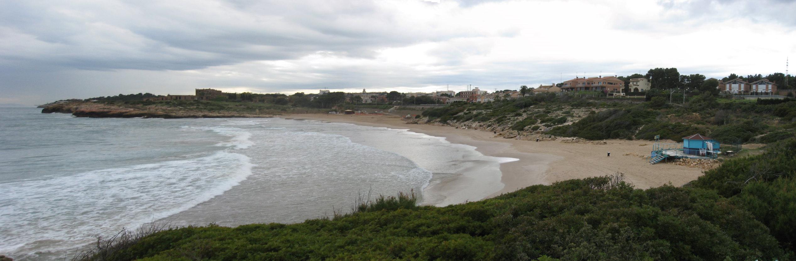 Foto playa Els Capellans / Los Capellanes. Platja Savinosa