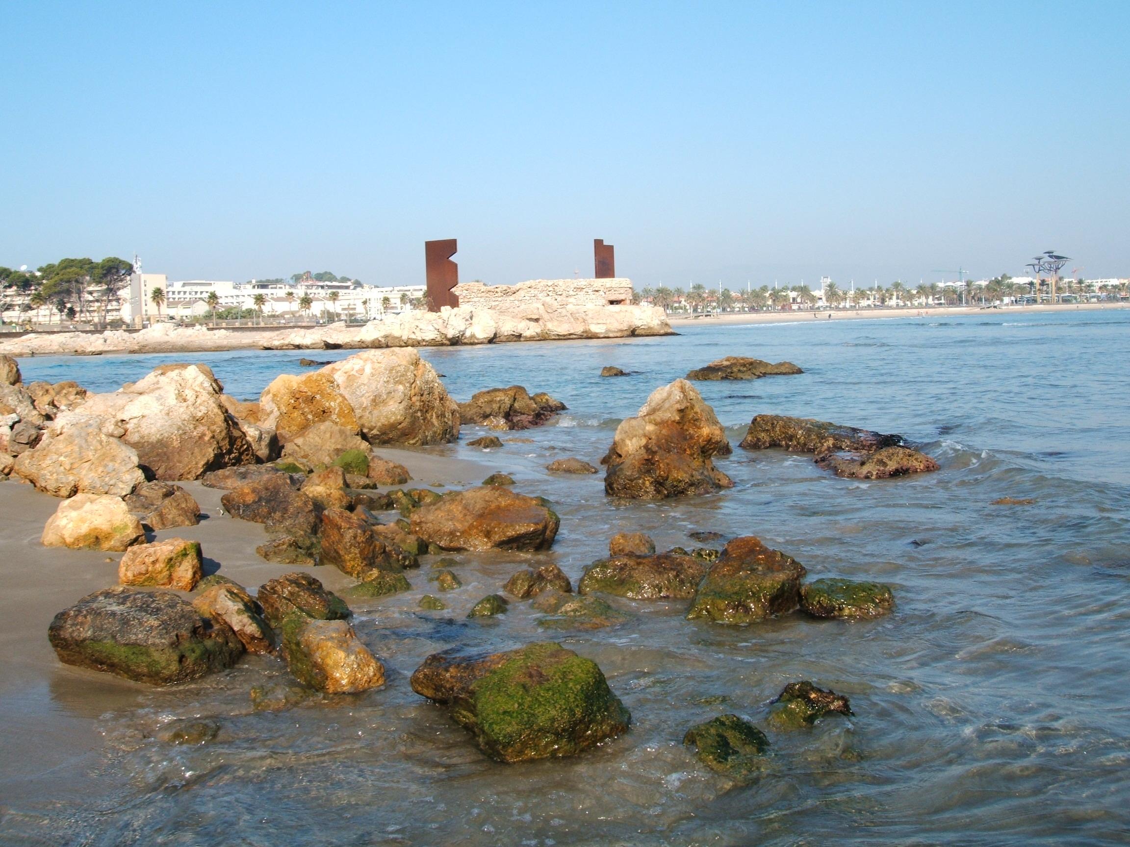 Foto playa El Reguerot de Claveguer. El Racó