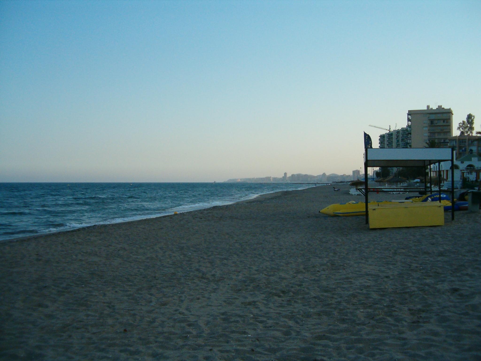 Foto playa Carvajal. carvajal1