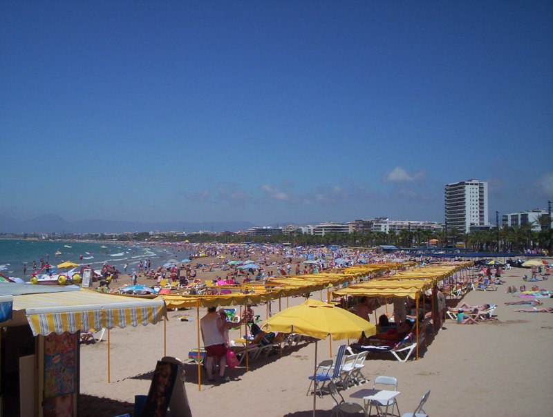 Foto playa Cala Llengüadets. Salou, Spain