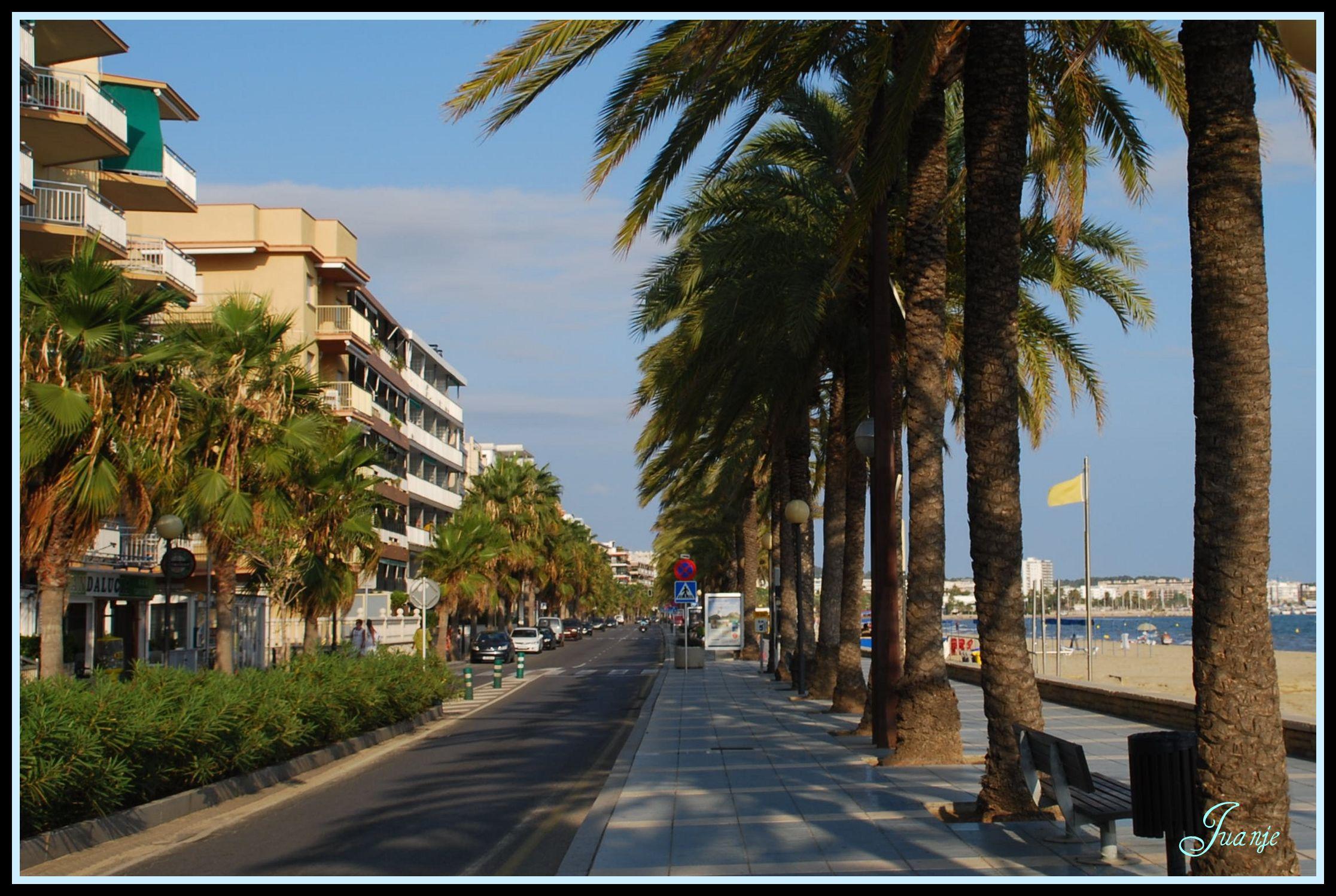 Foto playa Cap de Sant Pere. Salou (20-9-2008)