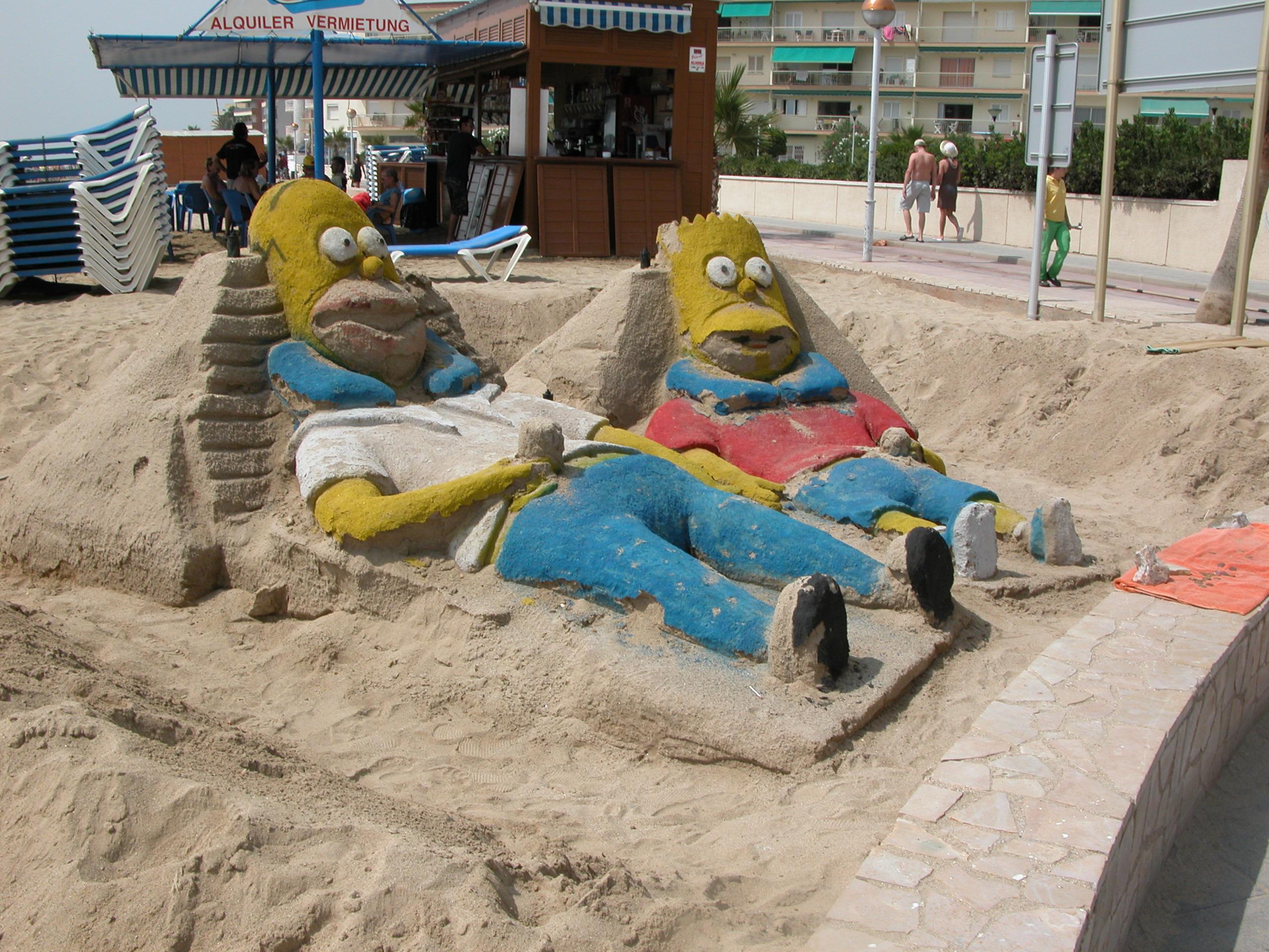 Foto playa Cap de Sant Pere. Salou - by Robi
