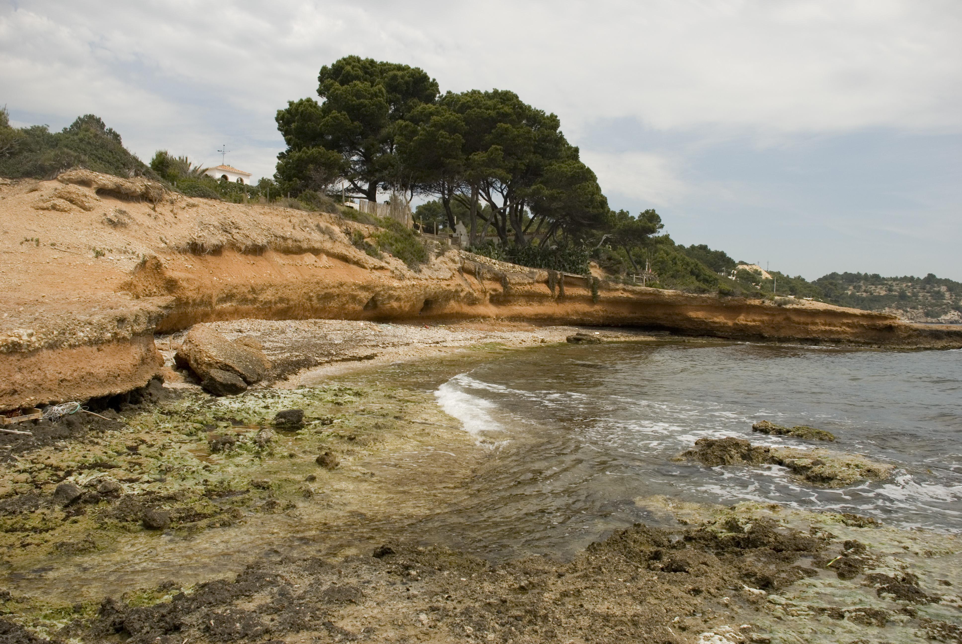 Foto playa Cala Moros. El Perelló