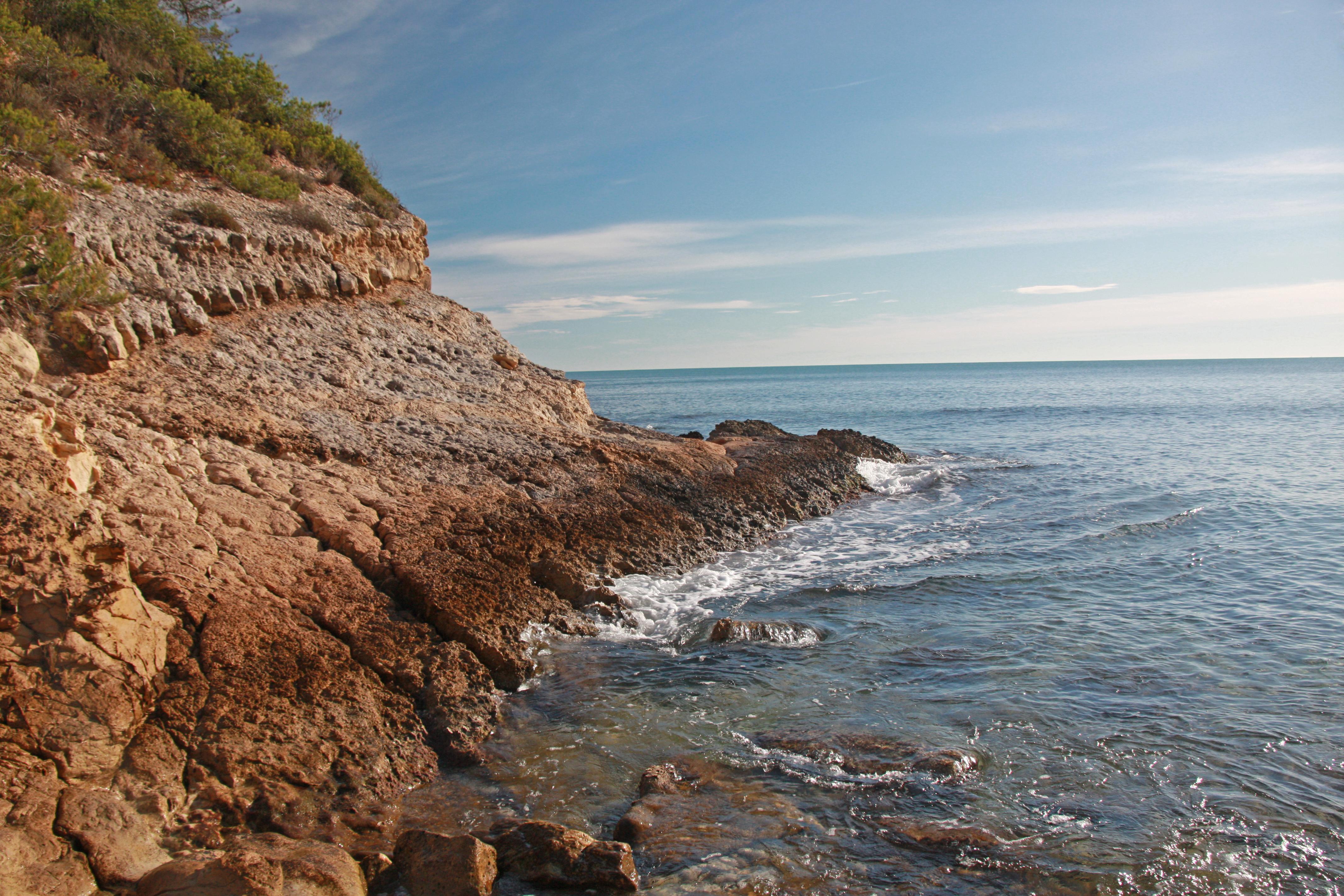 Foto playa Cala Moros. Cala El perelló