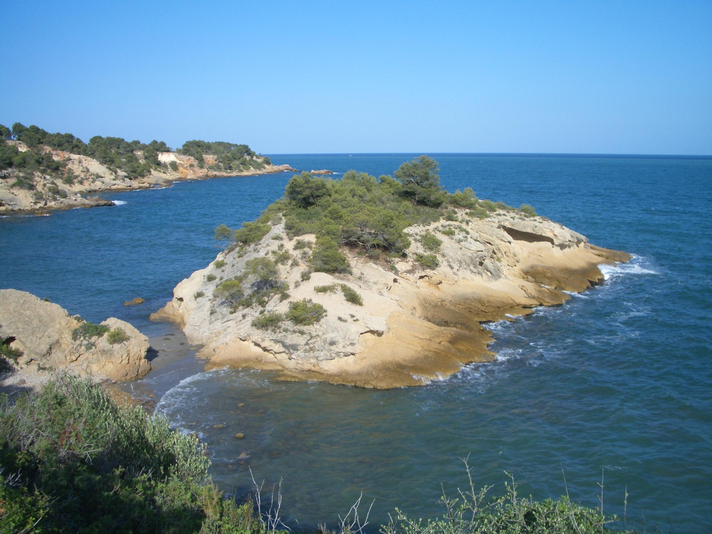 Foto playa Cala Moros. Costa del Perelló