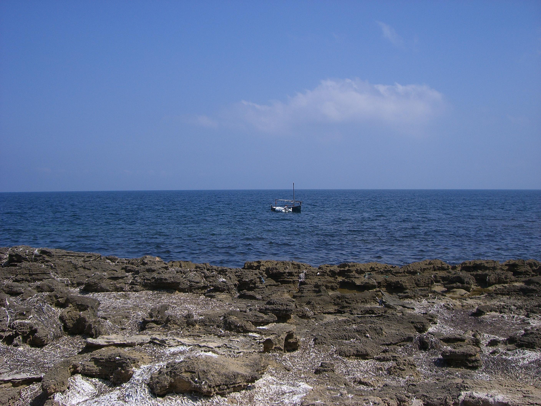 Foto playa Santa Llúcia. Costa entre Santa Llúcia i la Punta de l´Ã€guila