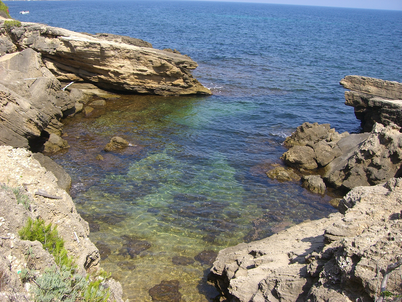 Foto playa Santa Llúcia. Caleta