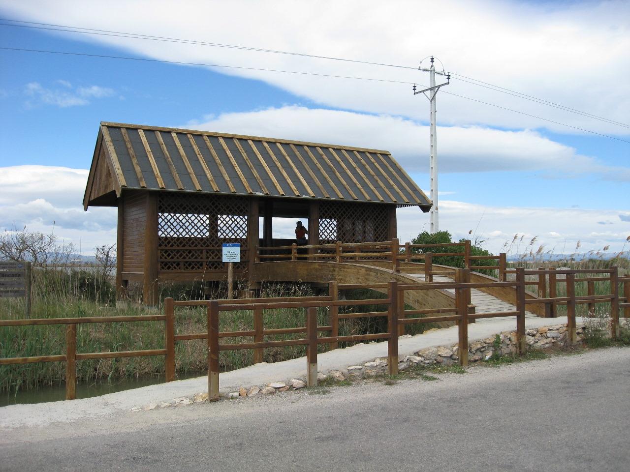 Foto playa El Trabucador. Mirador de la Tancada