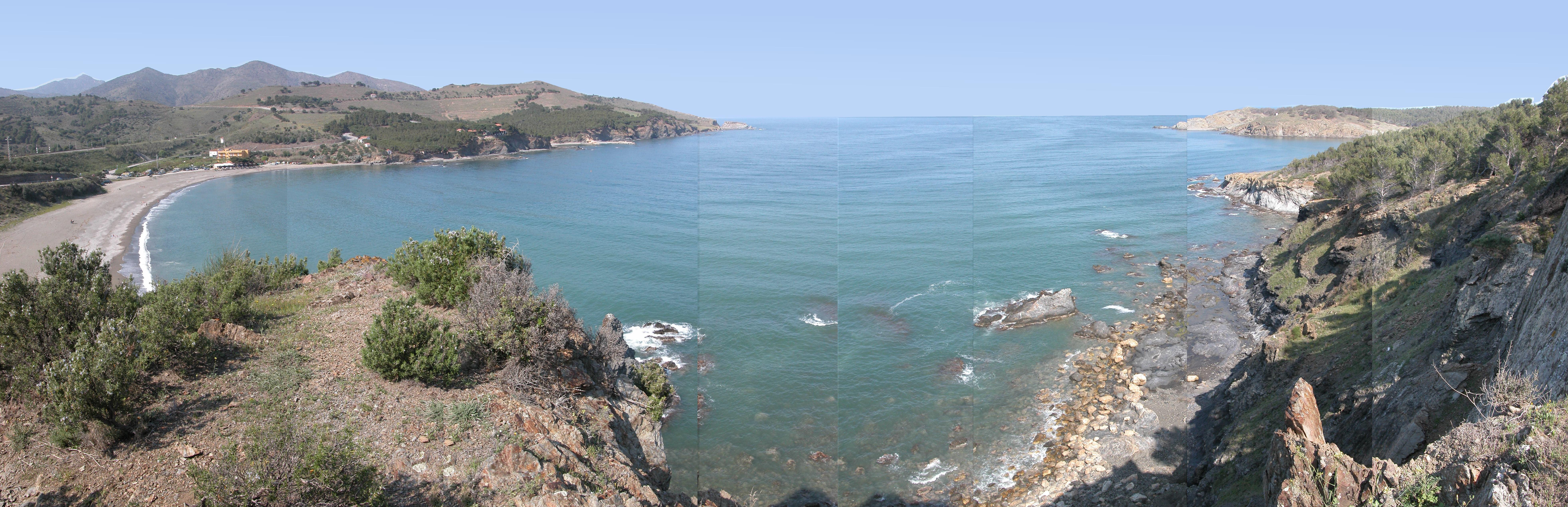 Foto playa Canyelles / Cap de Ras. Colera