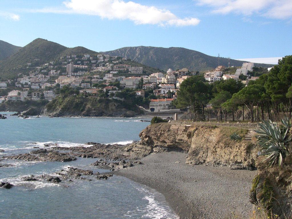 Foto playa Cau del Llop. Platja de la Farella petita