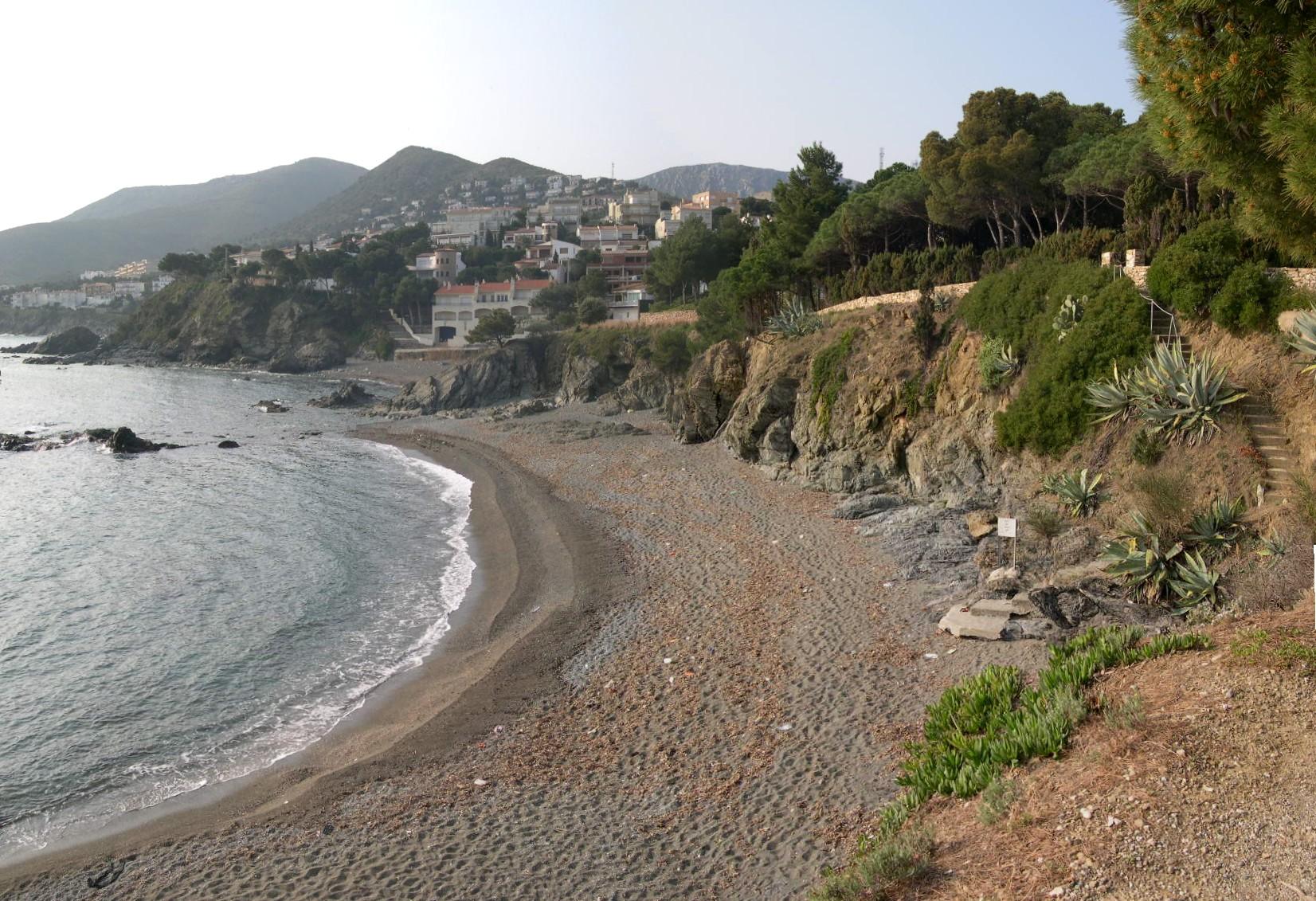 Foto playa Cau del Llop. Farella