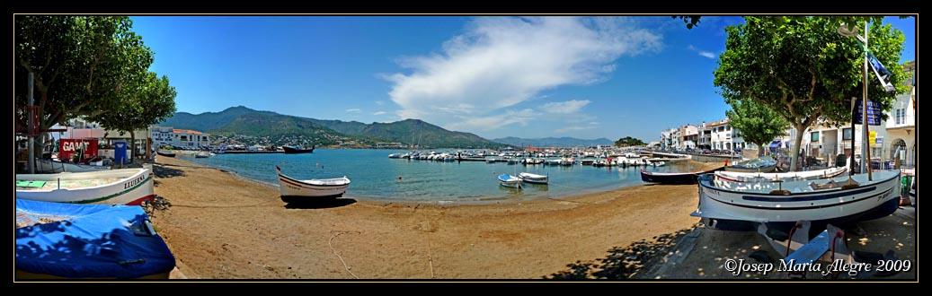 Foto playa Port de la Vall. El Port de la Selva