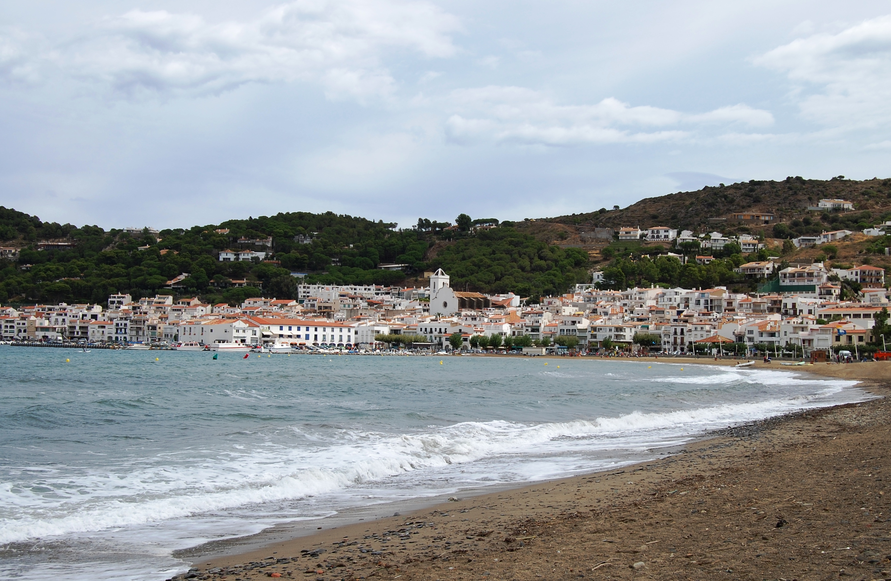 Foto playa Taballera. El Port de la Selva