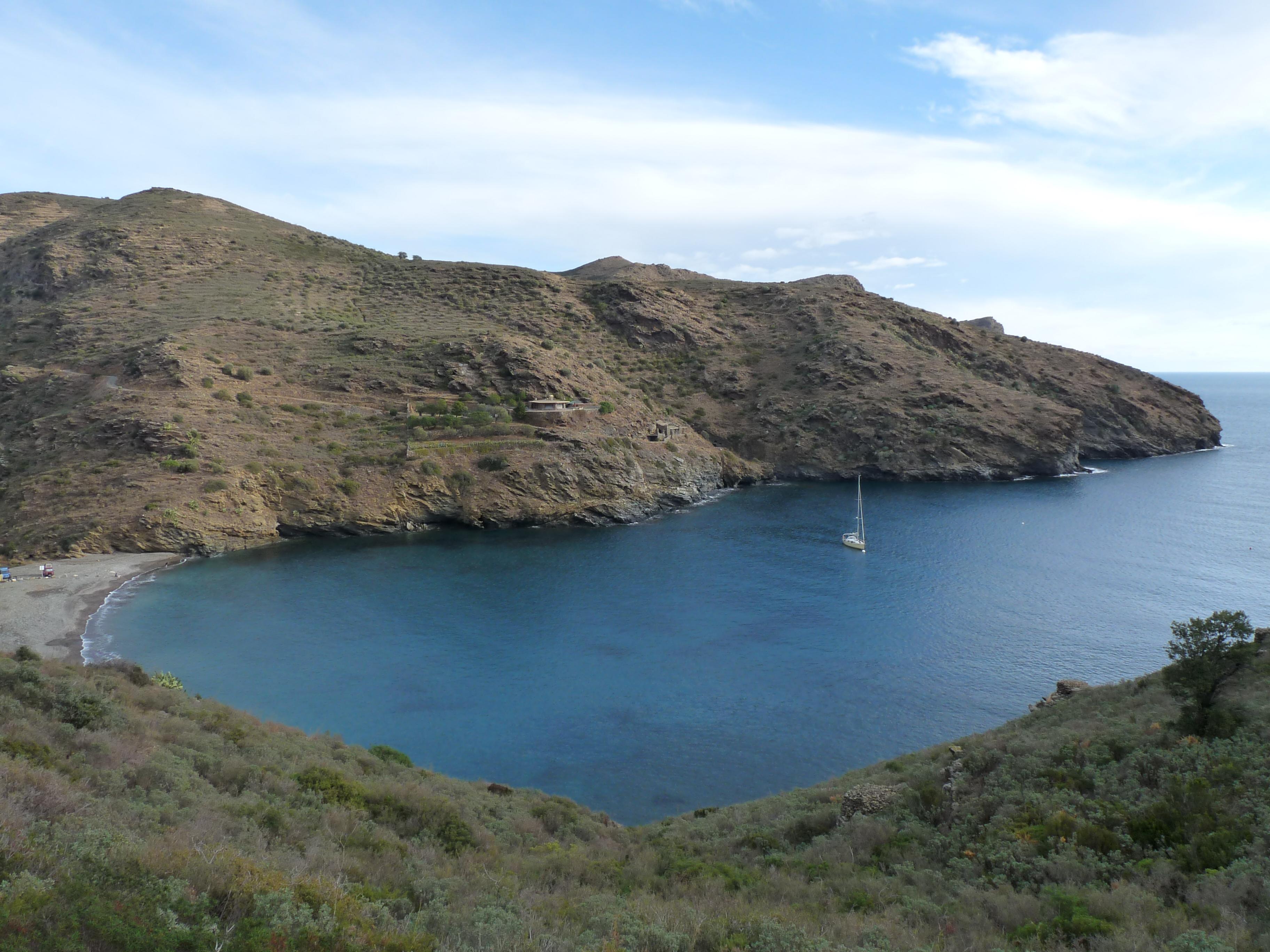 Foto playa Cala Canadell. Cap de Creus