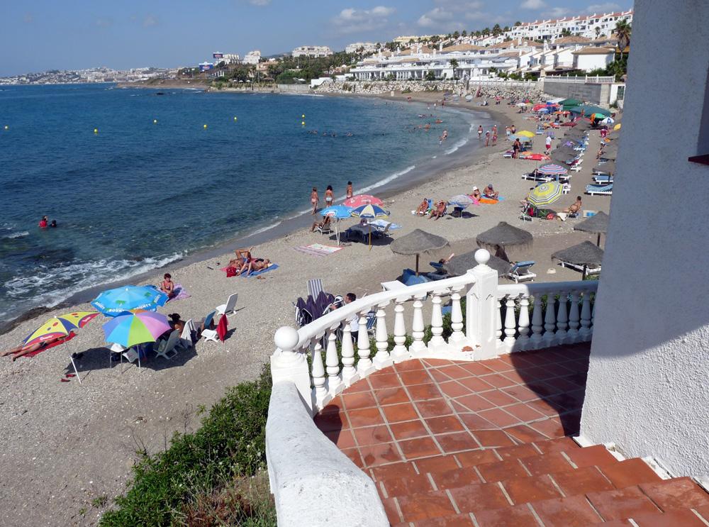 Foto playa El Chaparral. Playa del Faro de Calaburras