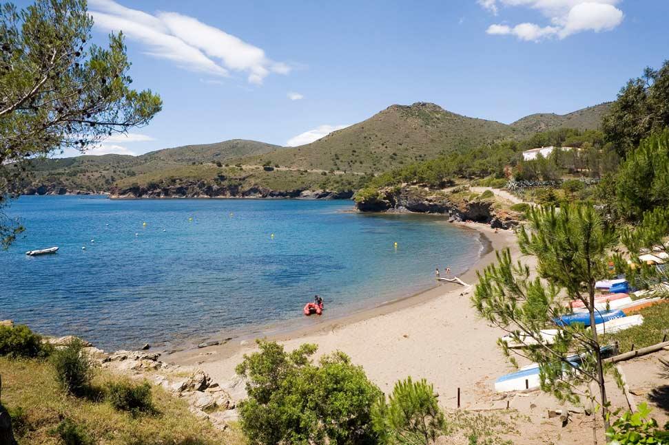 Playa Cala Montjoi