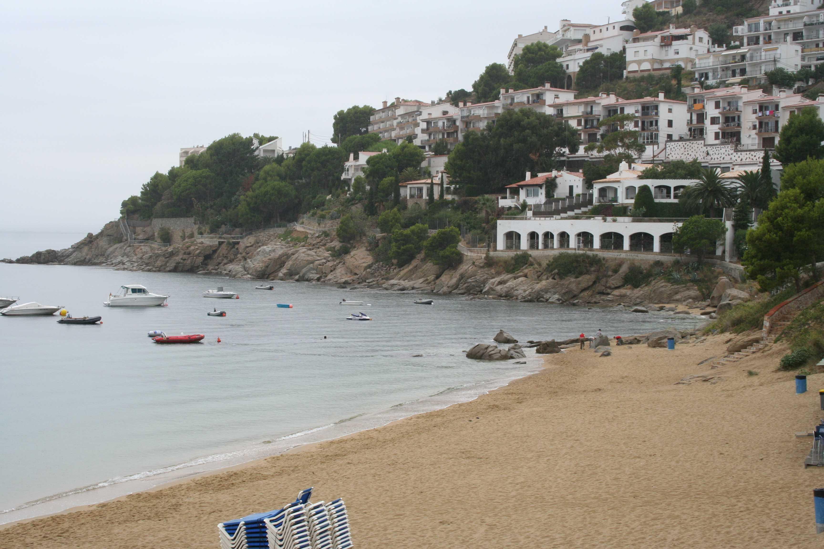 Foto playa Canyelles Petites. Rosas 2005 003