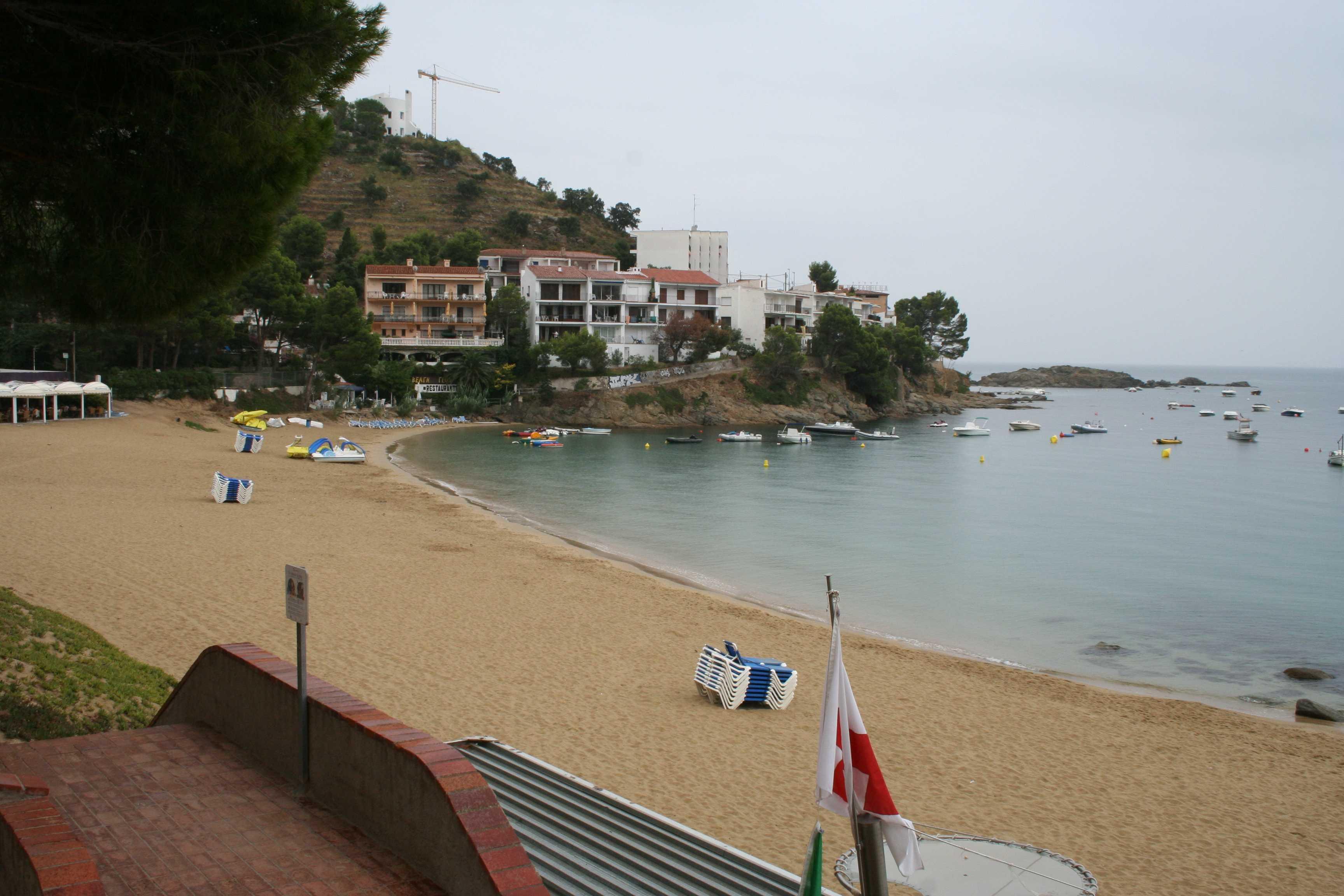 Foto playa Canyelles Petites. Rosas 2005 002