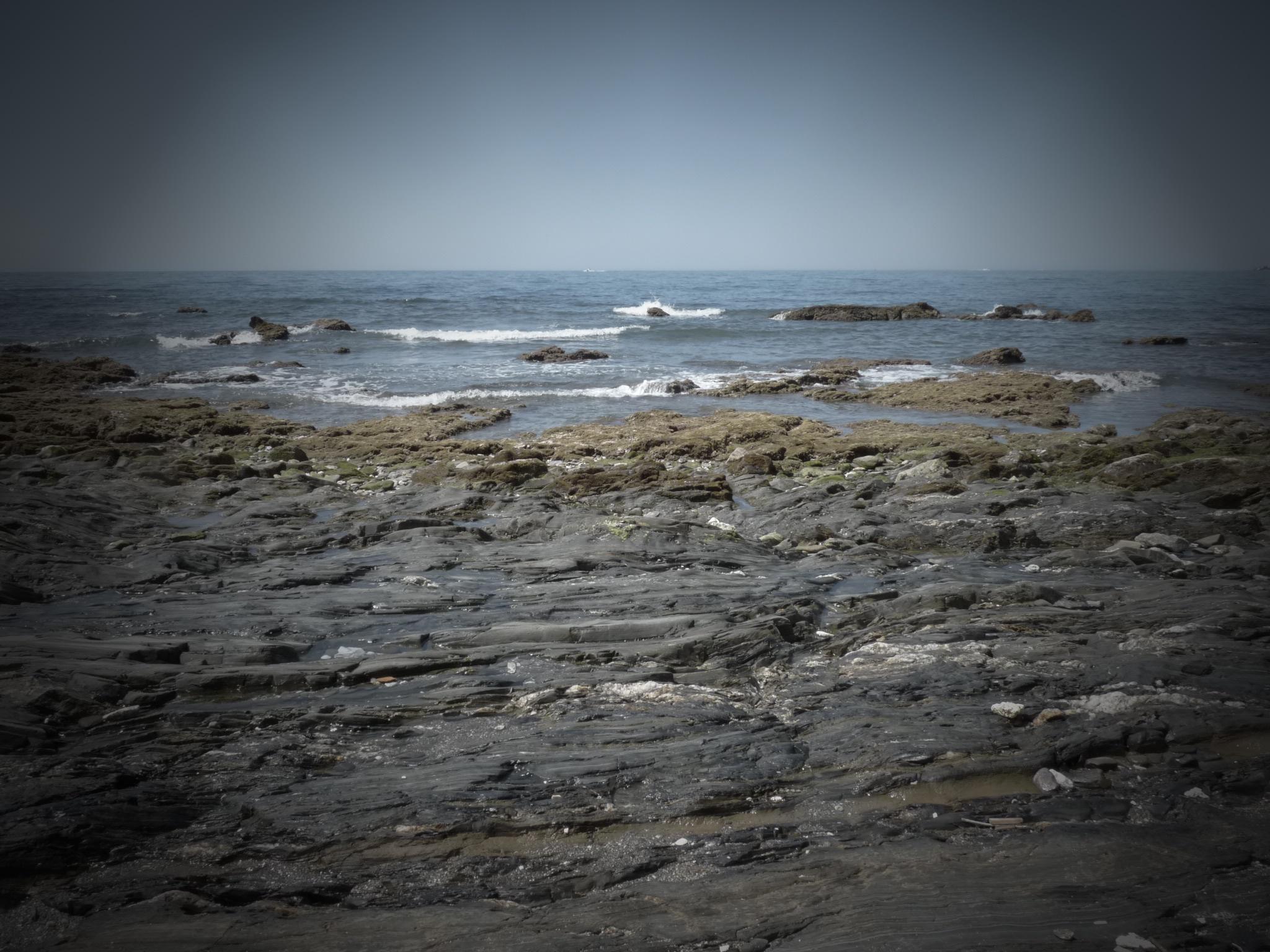 Foto playa El Chaparral. El Faro de  Calaburras