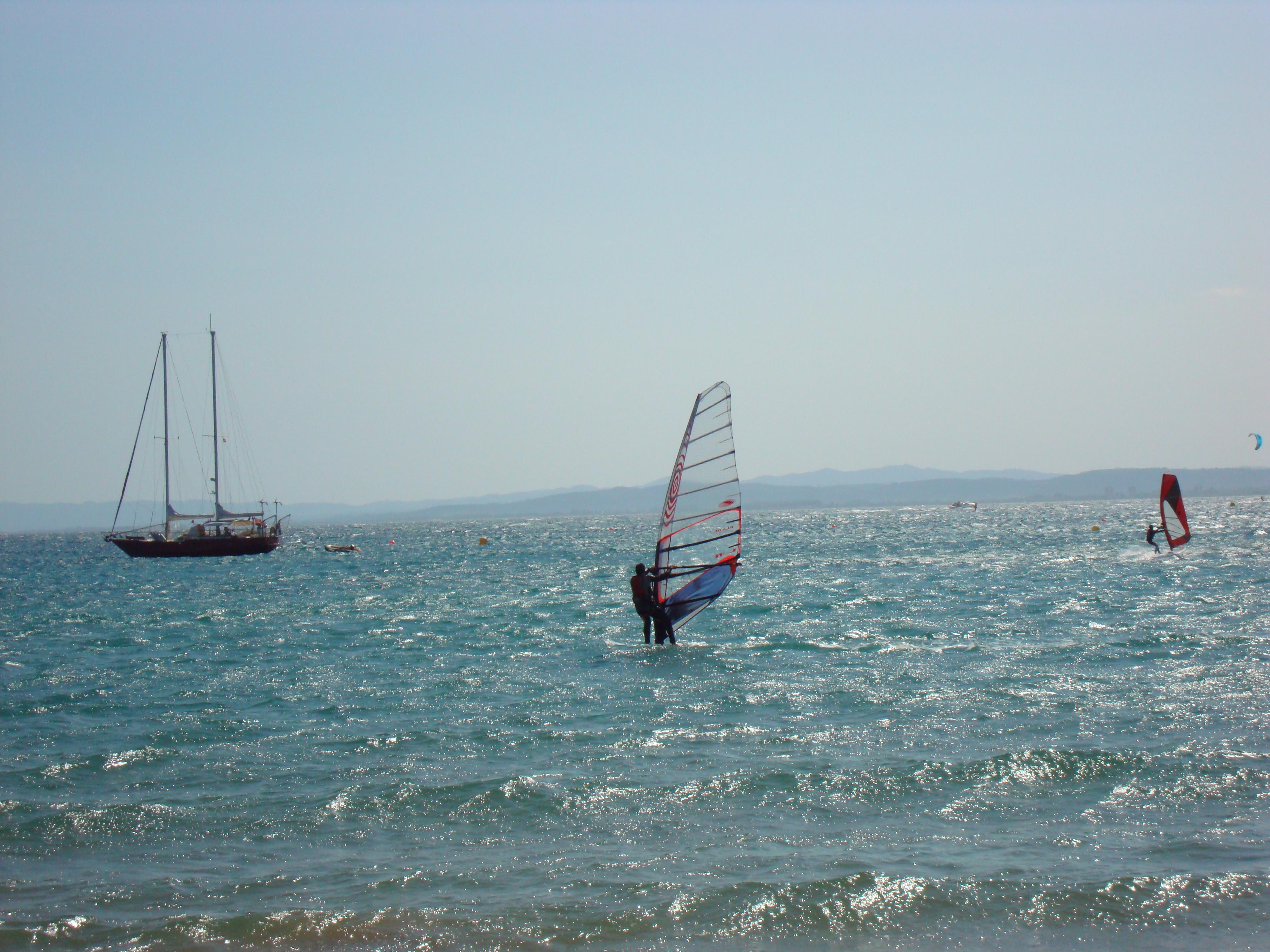Foto playa Salatar. CATALUNYA-Roses-Wind Surfing
