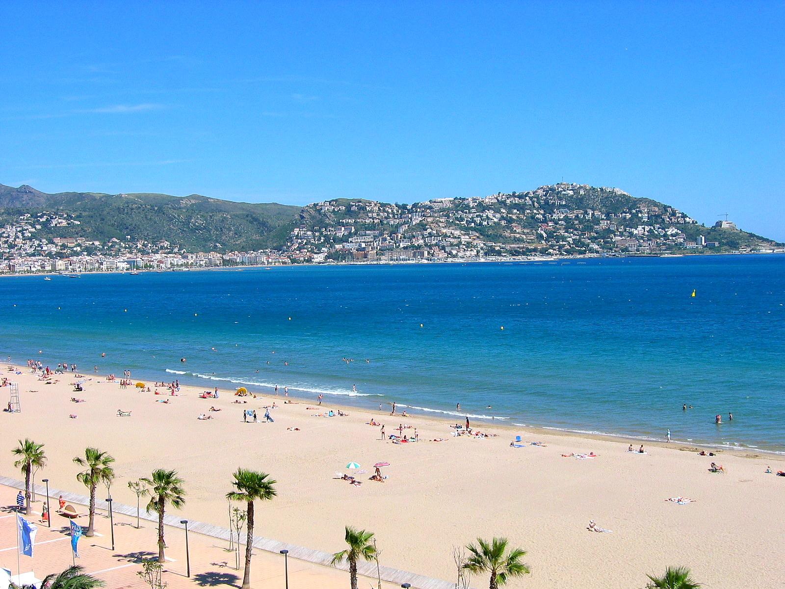 Foto playa Santa Margarida. Baie de ROSES