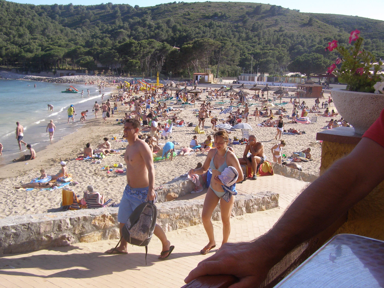 Foto playa L´Estartit / Griells / Pletera. Plage de Mongo  (Costa-Brava/Espagne/juin 2009)