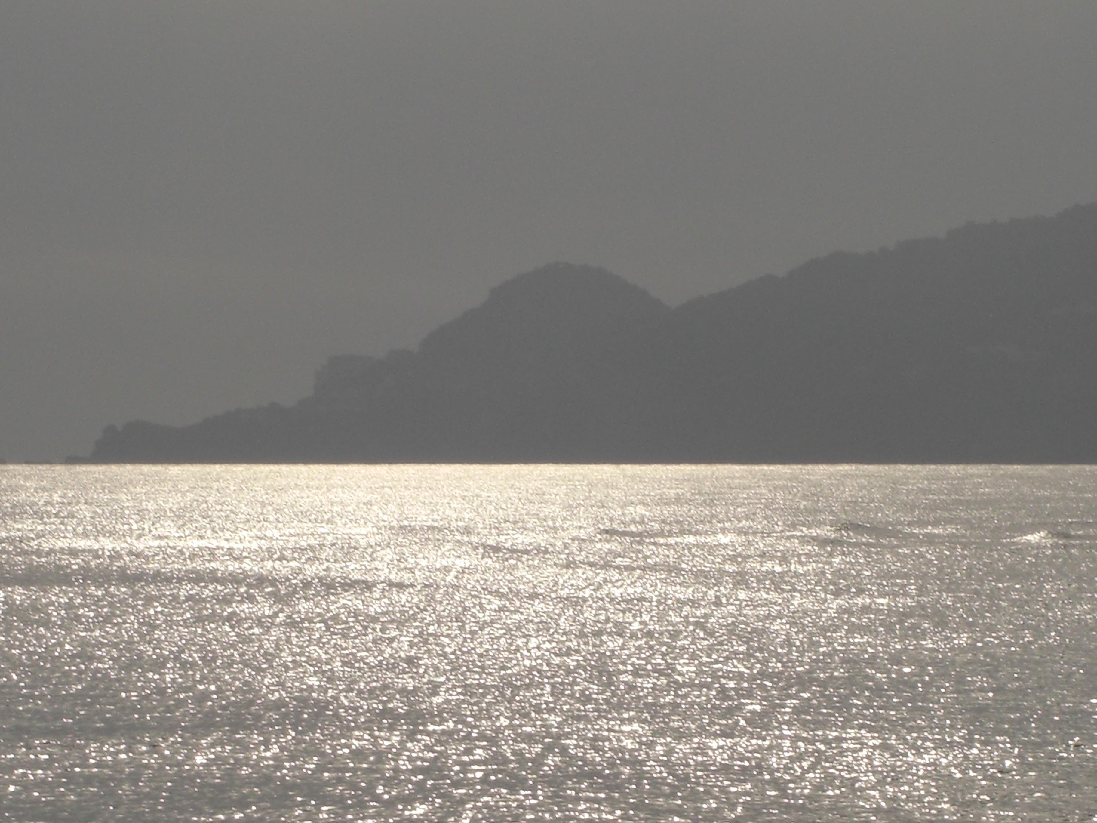 Foto playa Mas Pinell. Reflejos