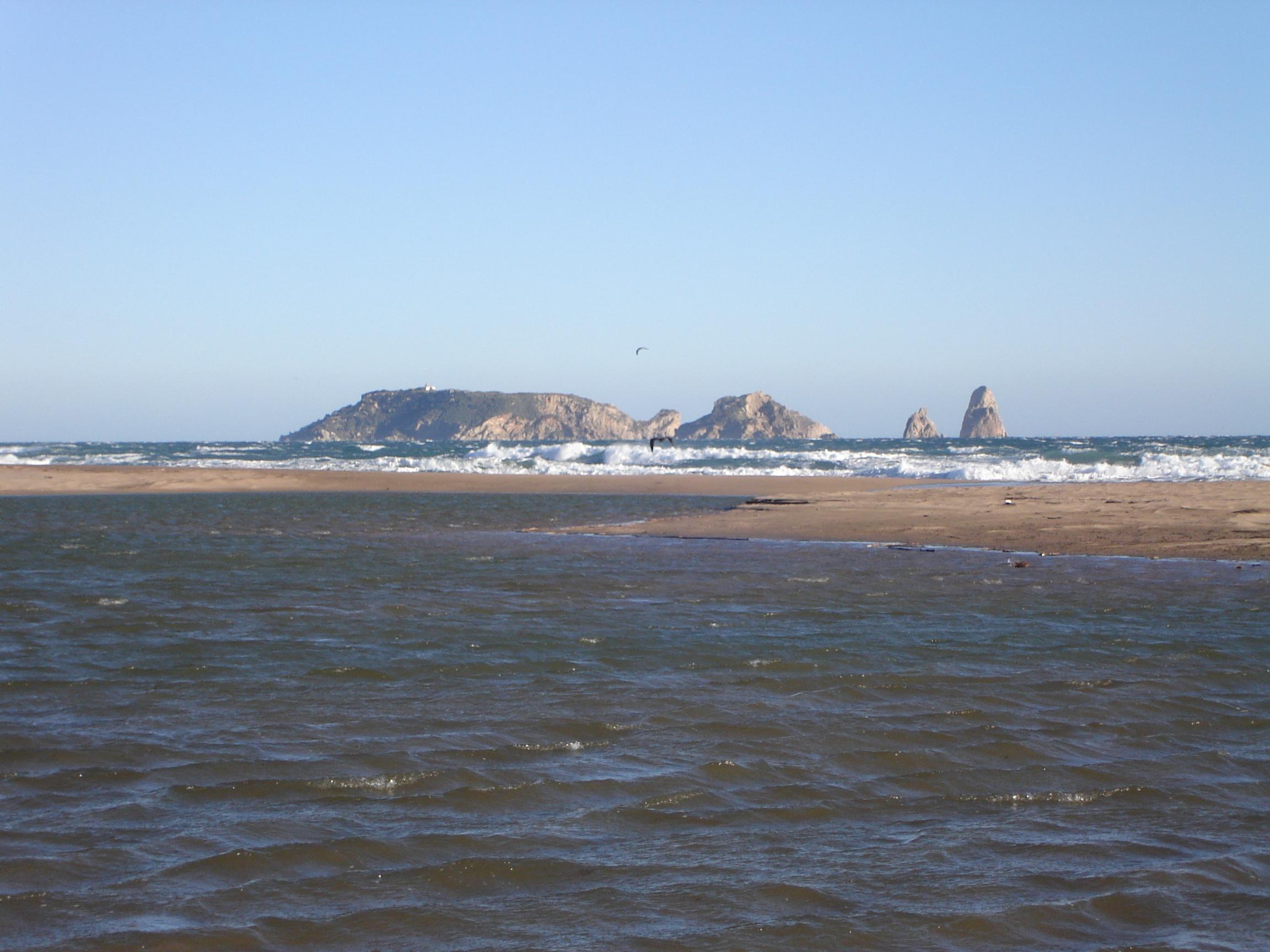 Foto playa Mas Pinell. Islas Medas