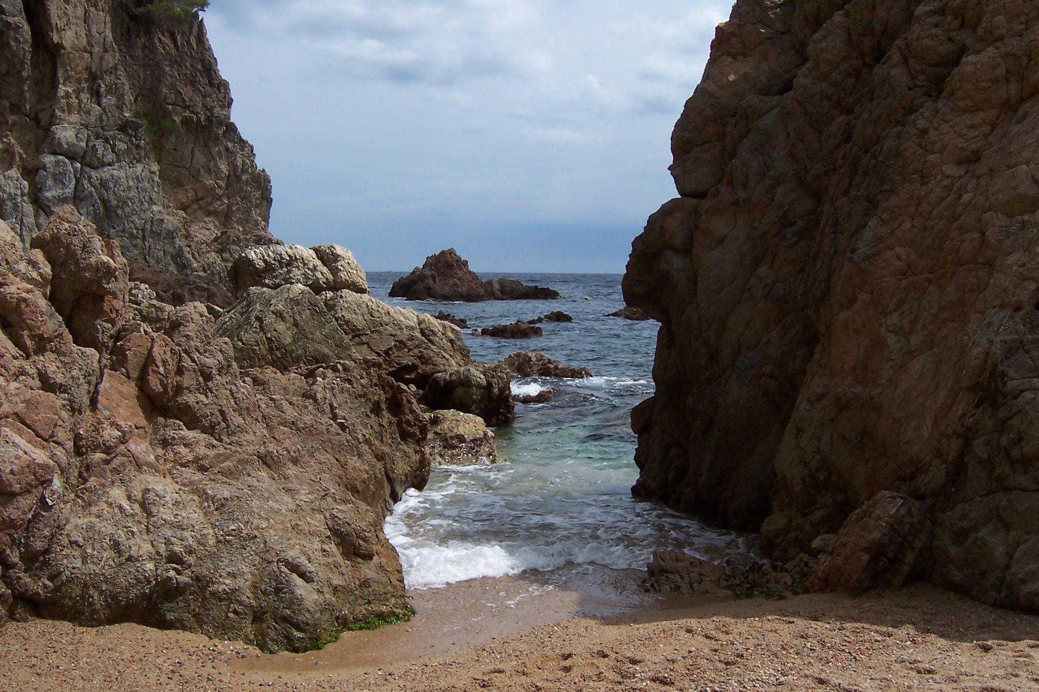 Foto playa Agua Gélida / Aigua Xelida. Tamariu