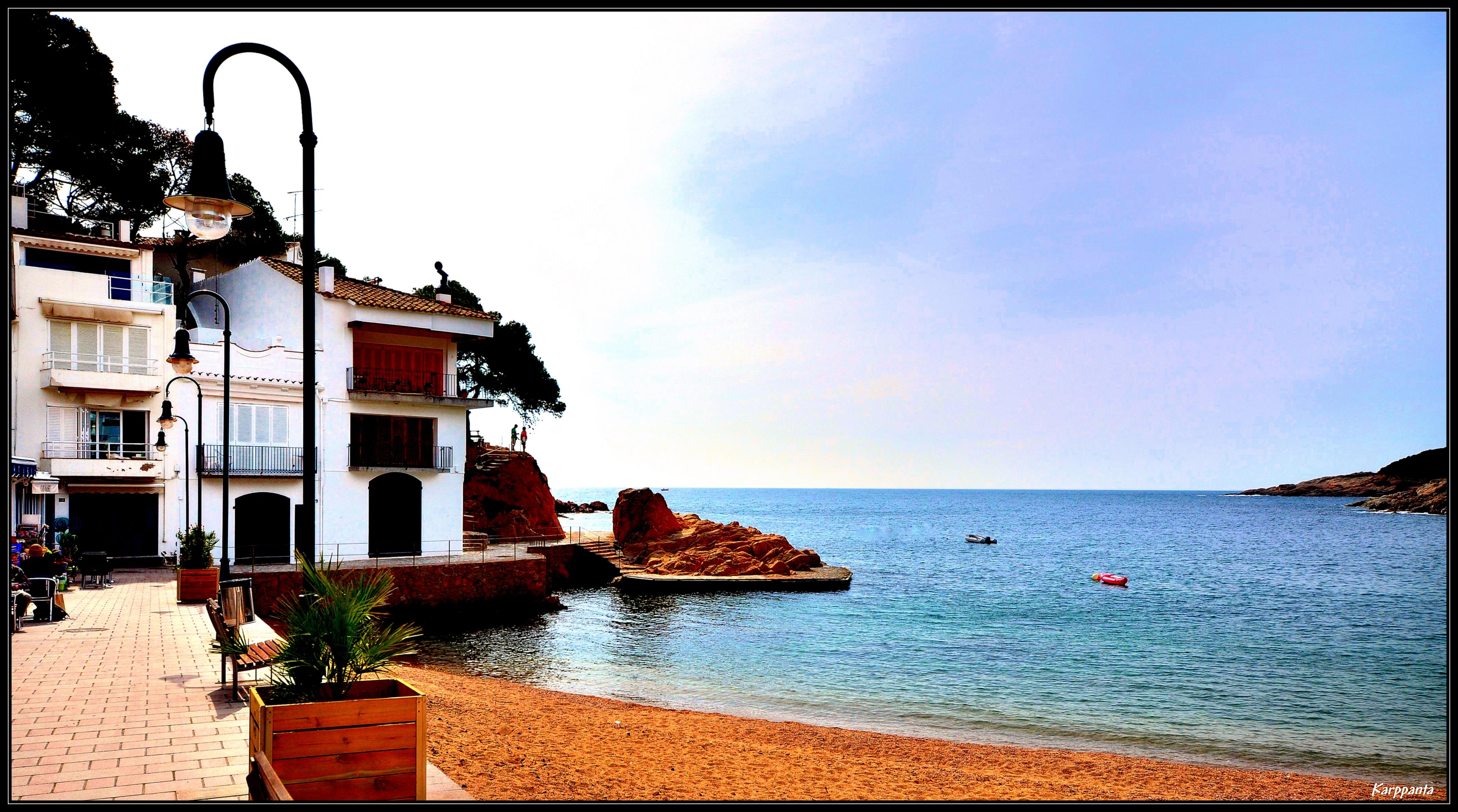 Foto playa Agua Gélida / Aigua Xelida. Tamariu - Baix Empordà - Costa Brava - Girona