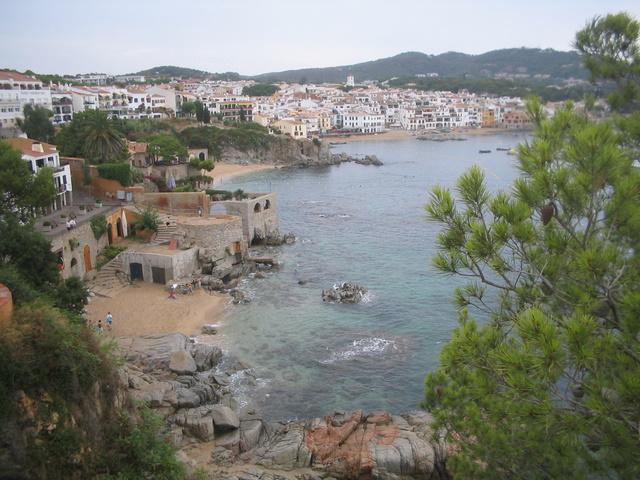 Foto playa Port Pelegrí. Calella de Palafrugell, Catalunya