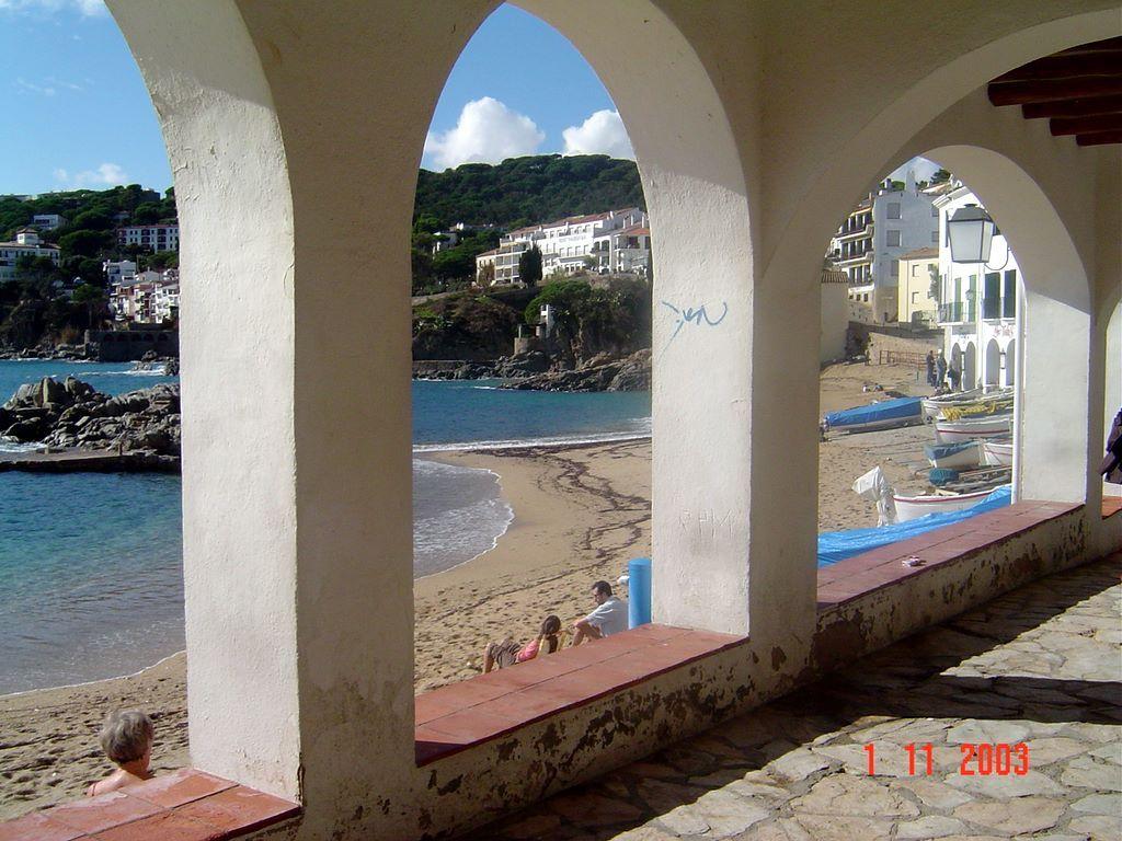 Foto playa Port Pelegrí. ESPAÃ'A Costa Brava Calella de Palafrugell