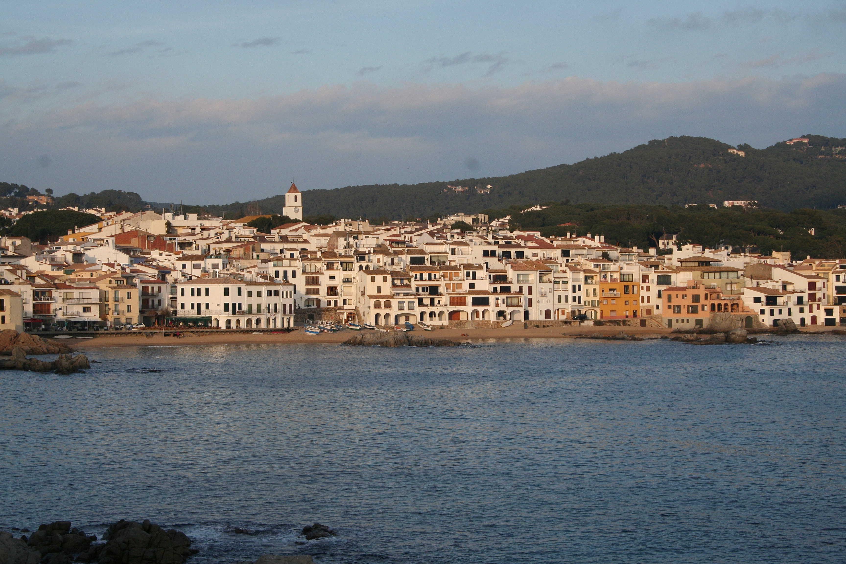 Foto playa El Golfet. Calella de Palafrugell