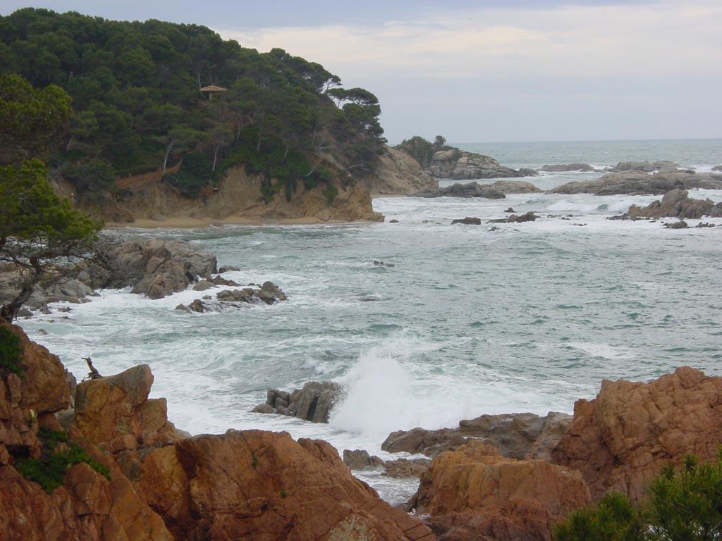 Foto playa Cala Estreta. El Crit (Mont-ras)