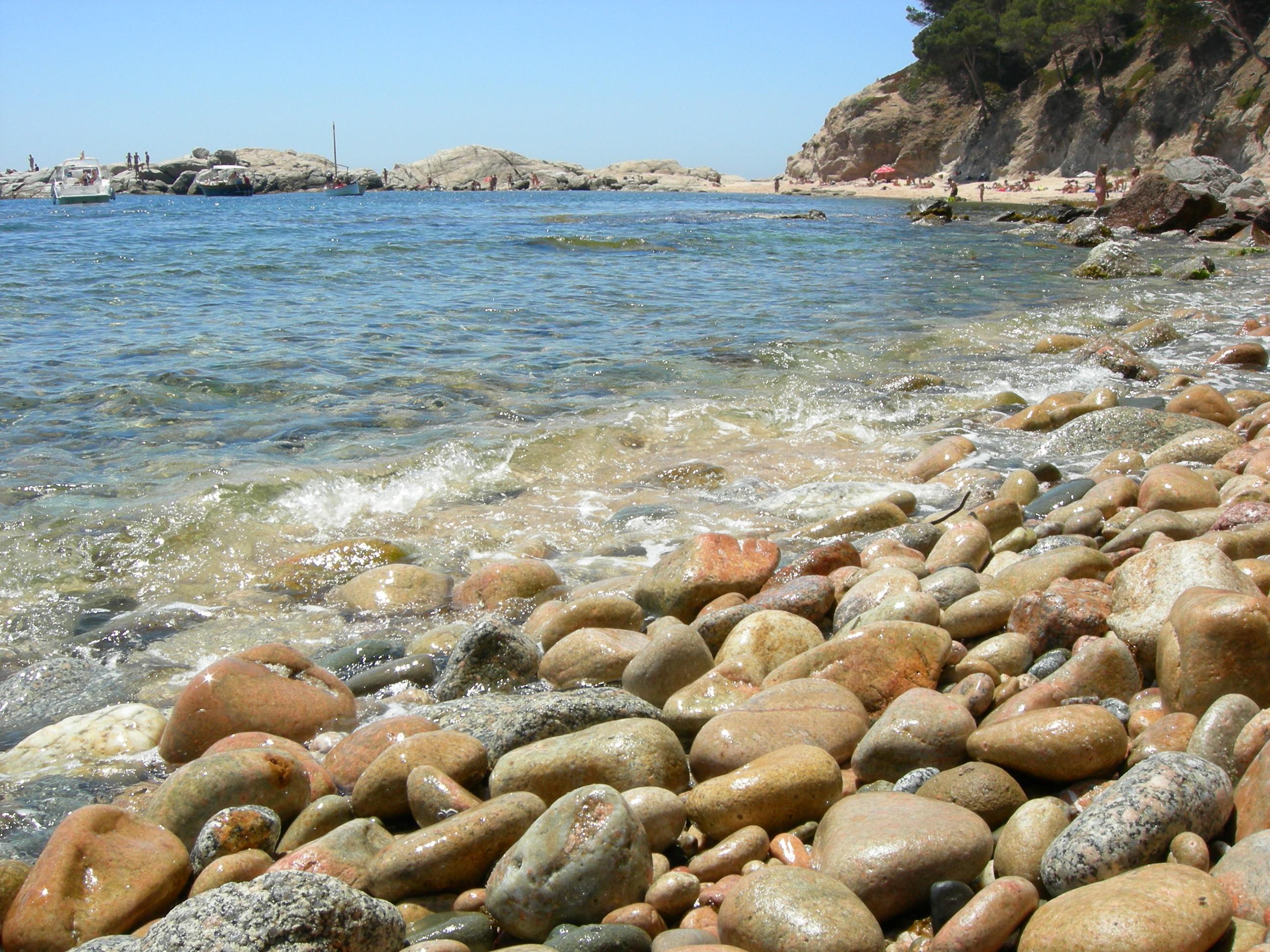 Foto playa Cala Estreta. Orilla del mar