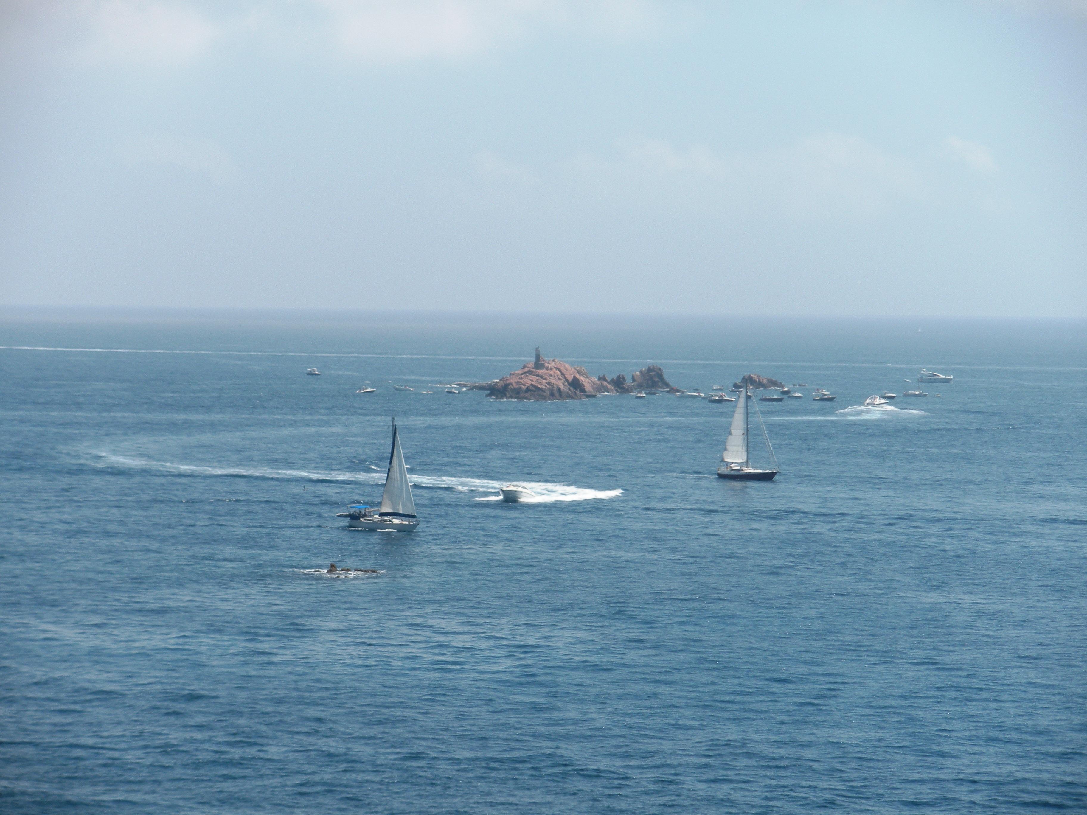 Foto playa Cala Estreta. Palamós, Illes Formigues