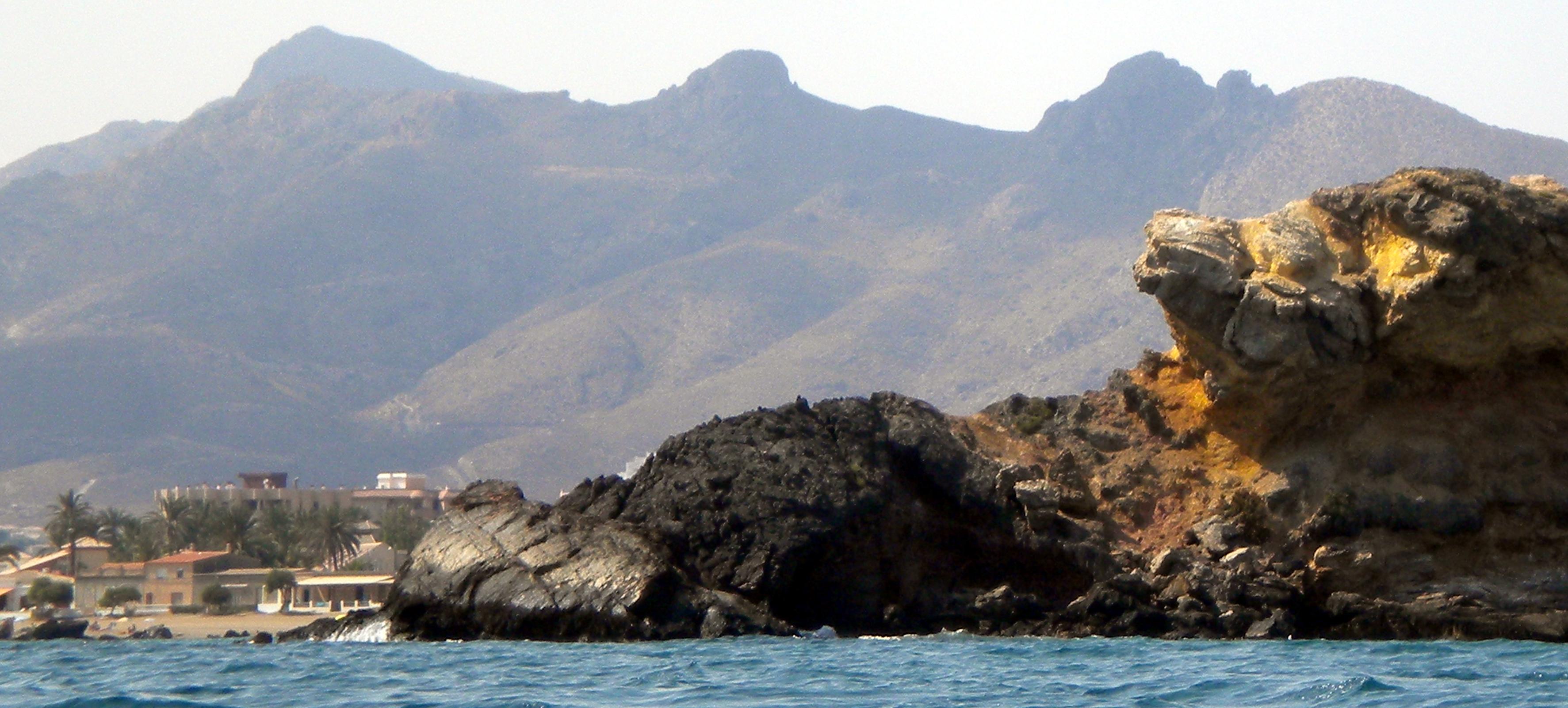 Foto playa El Castell.